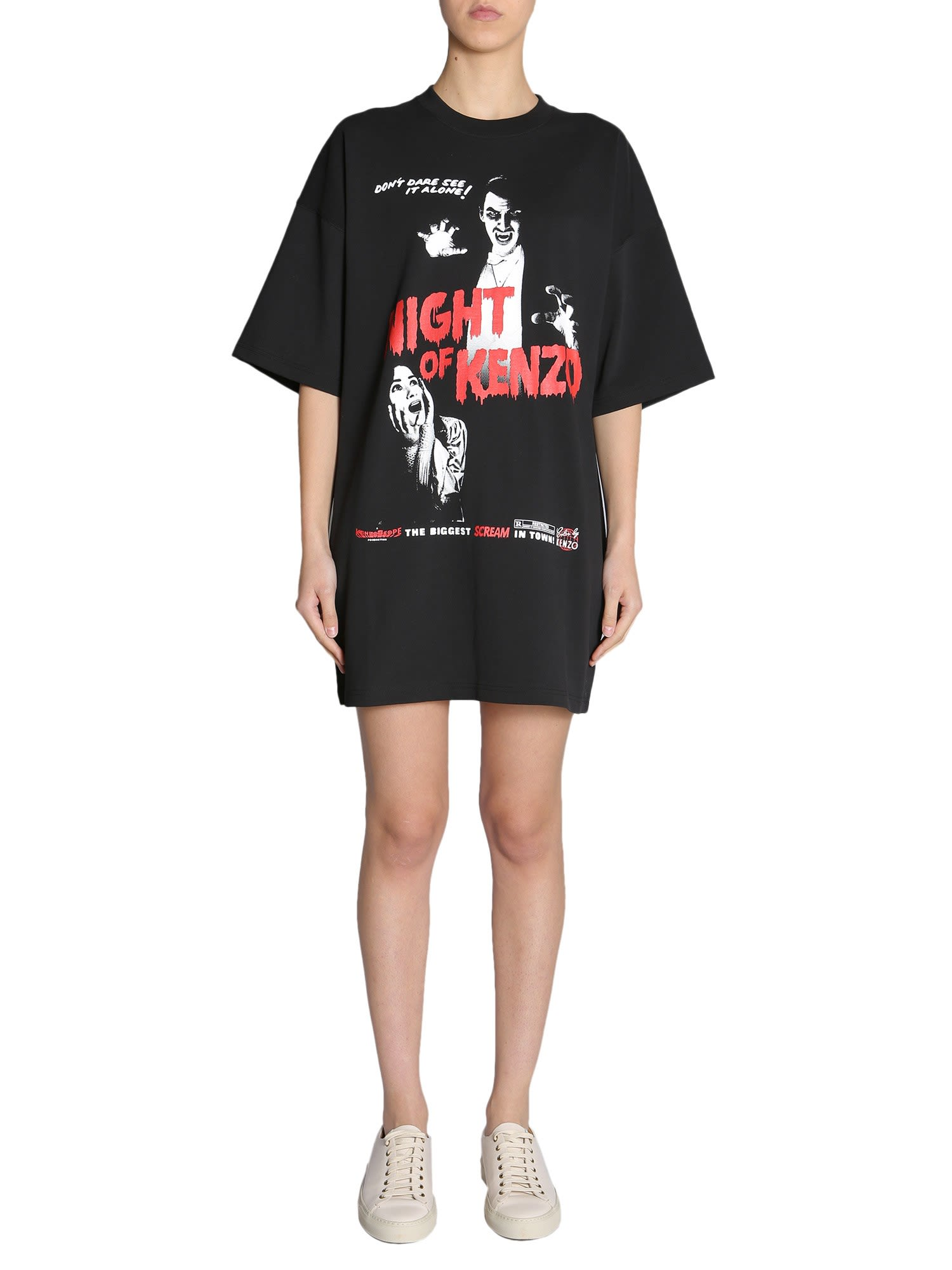 Kenzo Oversize T-shirt Dress