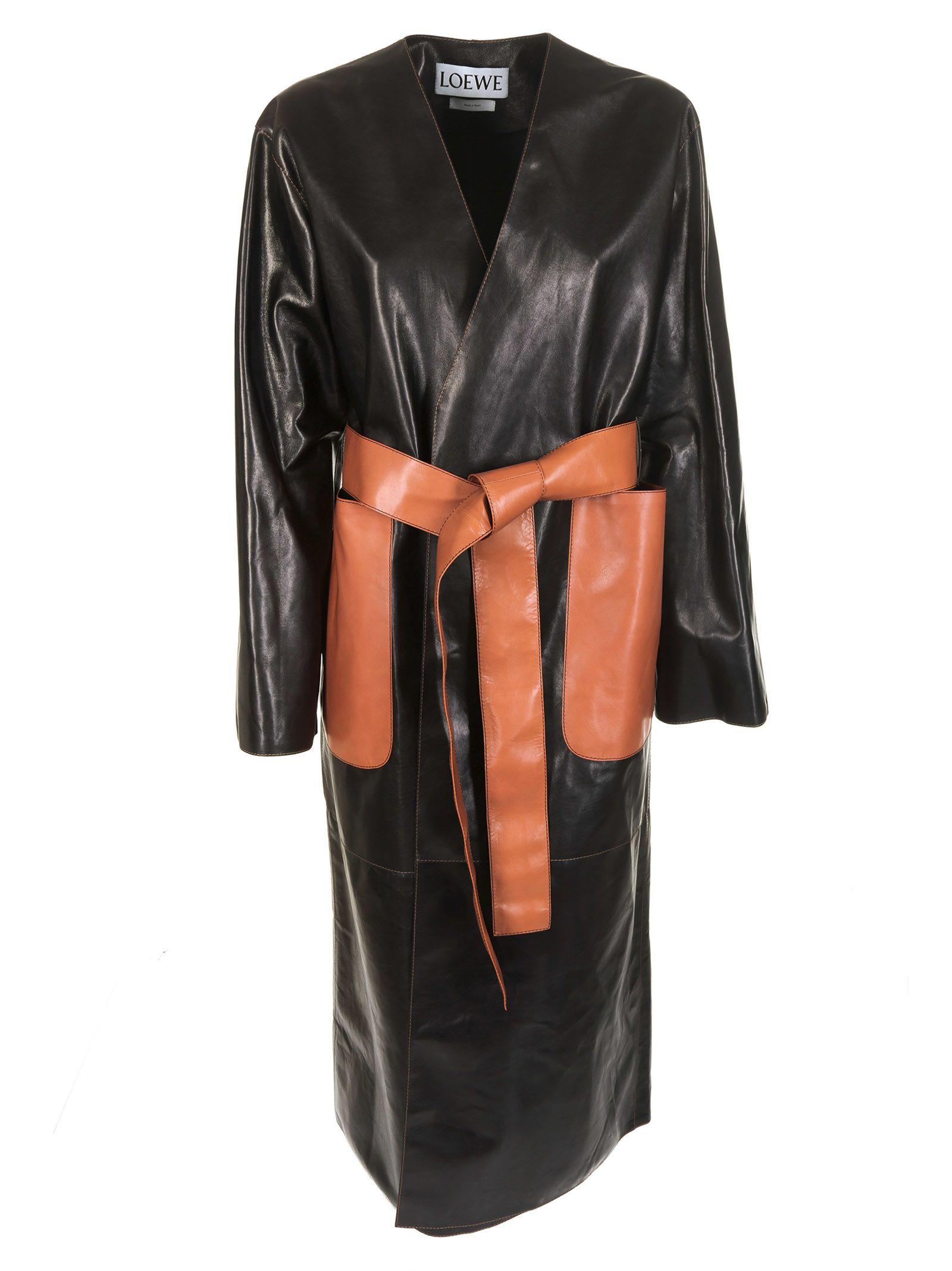 loewe -  Belted Long Coat