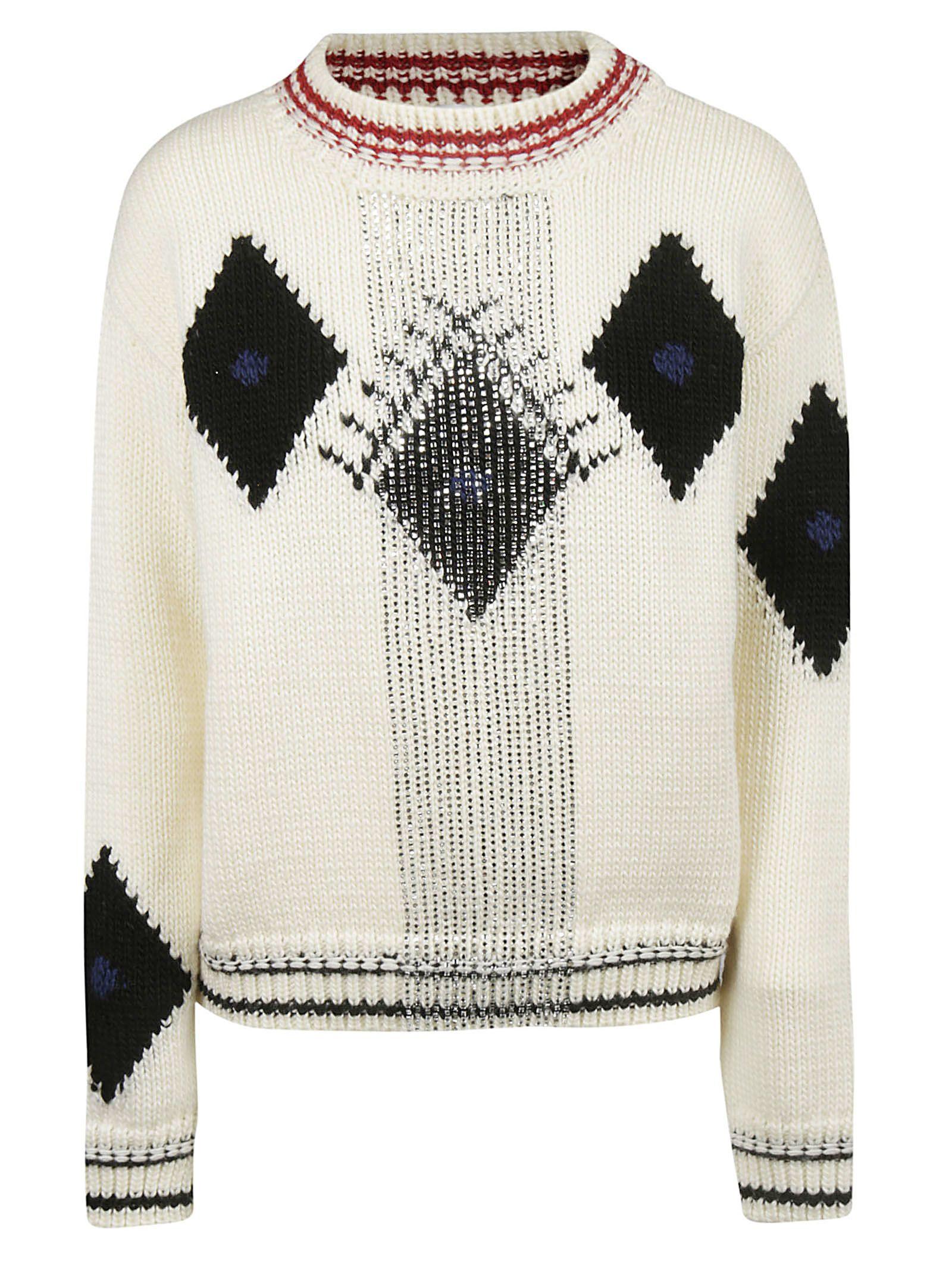 Ermanno Scervino Embellished Sweater