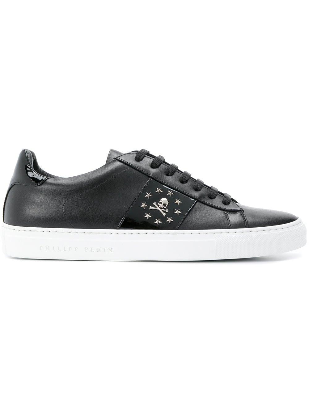 Philipp Plein Skull Studded Sneakers