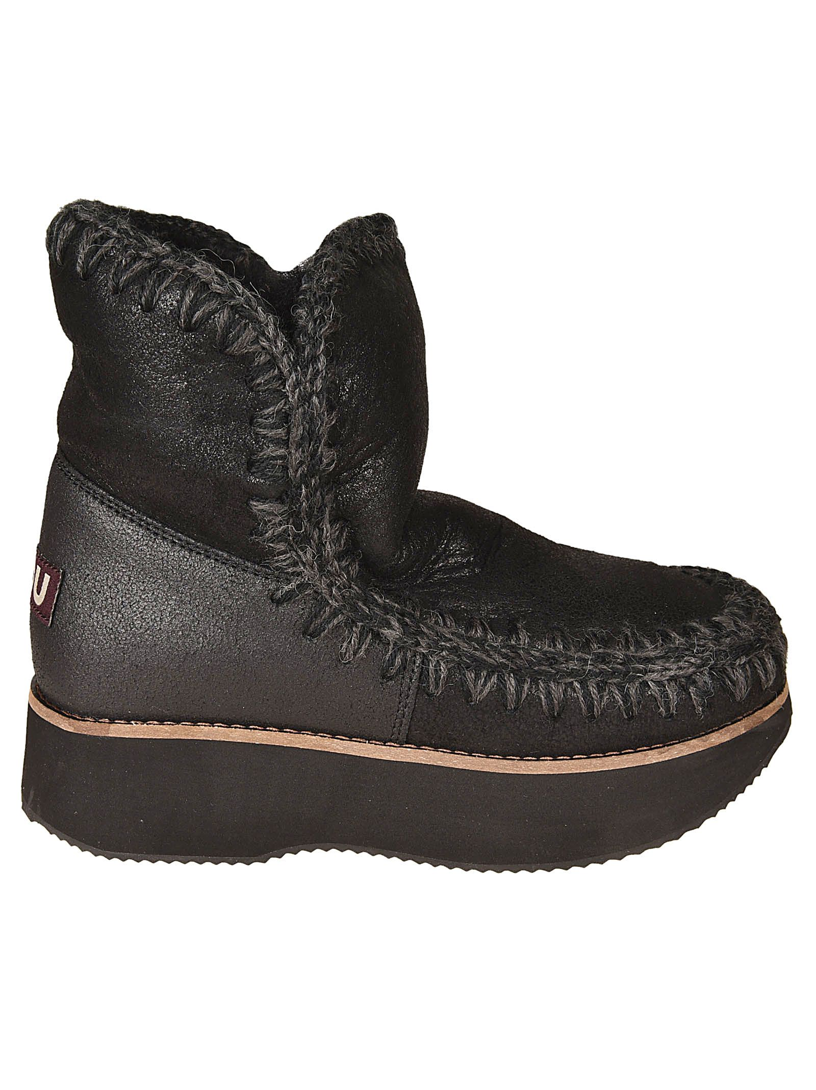 Mou Stitched Boots
