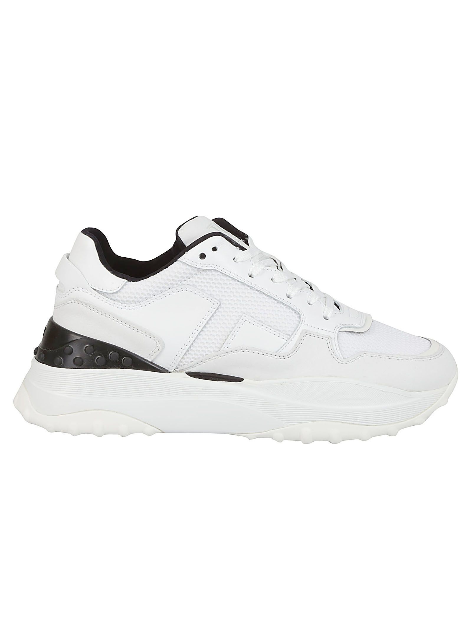 Tod's Leather Platform Sneakers