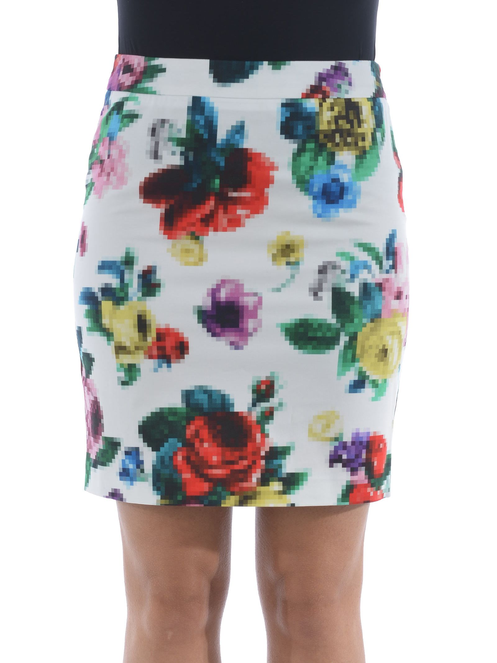 Love Moschino Floral Mini Skirt