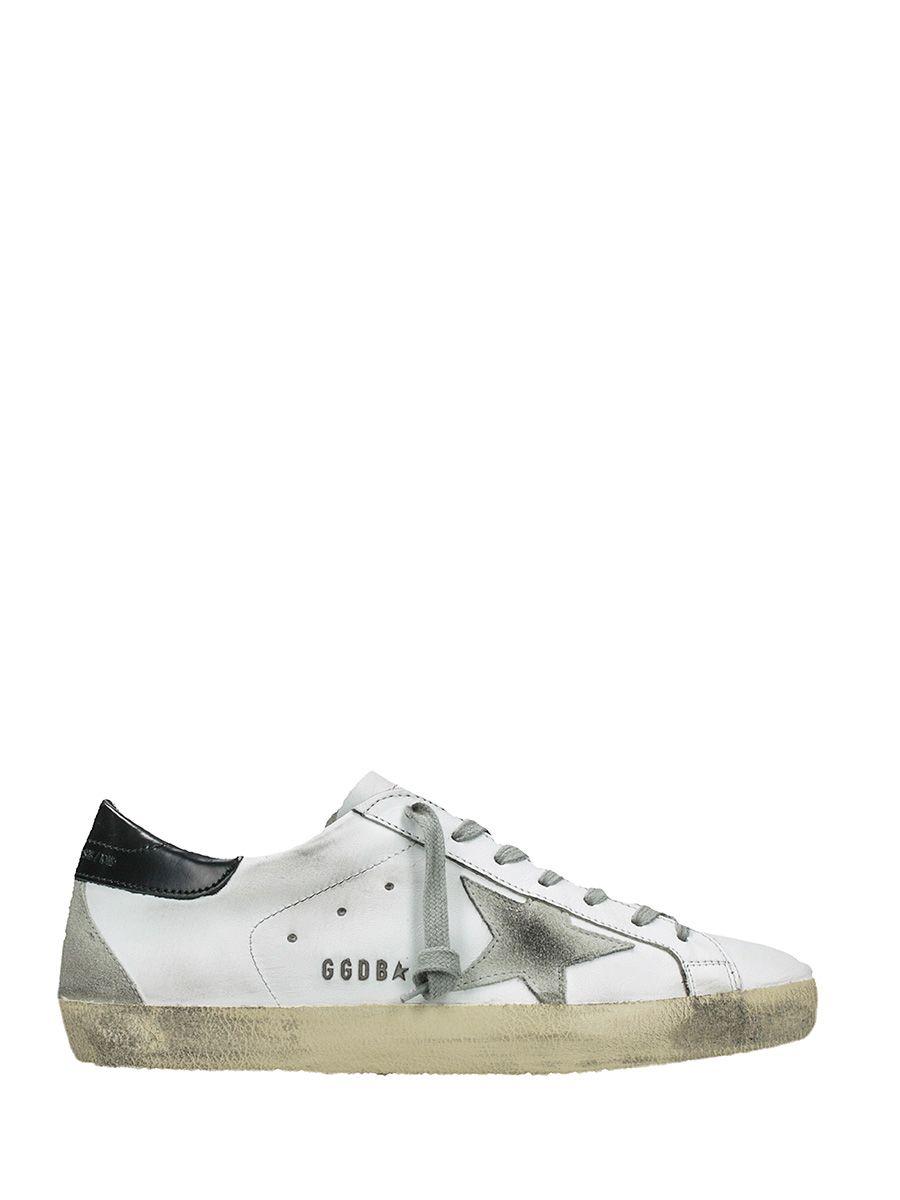 Golden Goose Superstar White Black Sneakers
