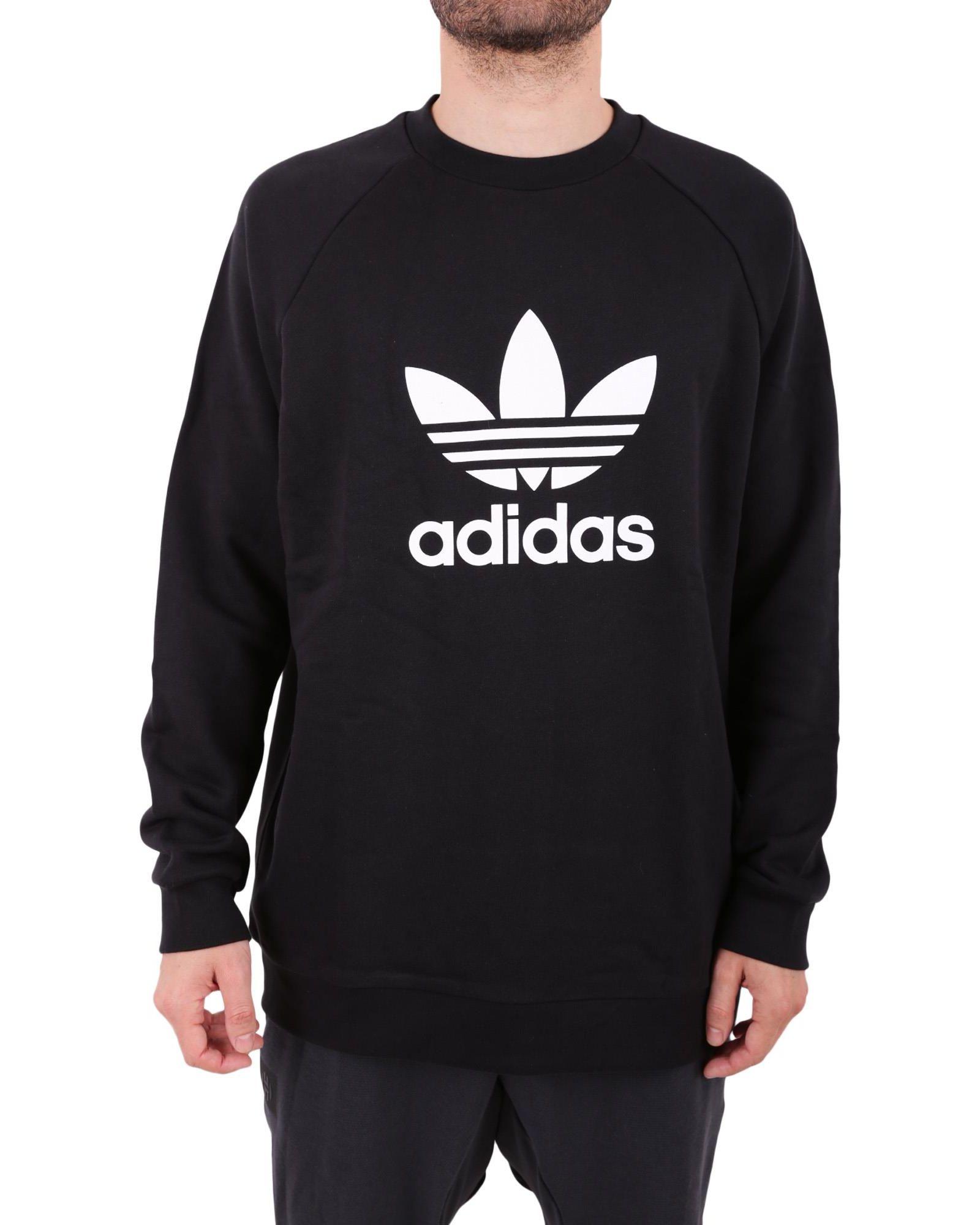 Adidas Trefoil Cotton Sweatshirt
