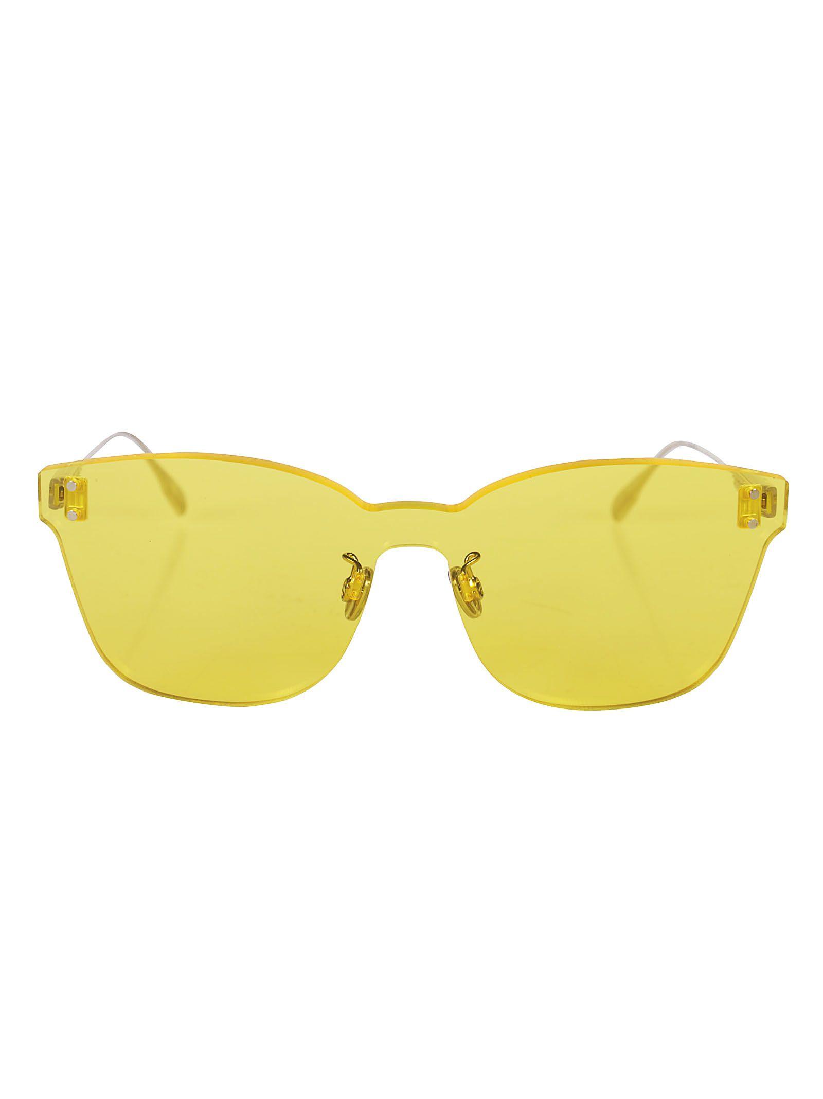 Dior Color Quake Square Frame Sunglasses