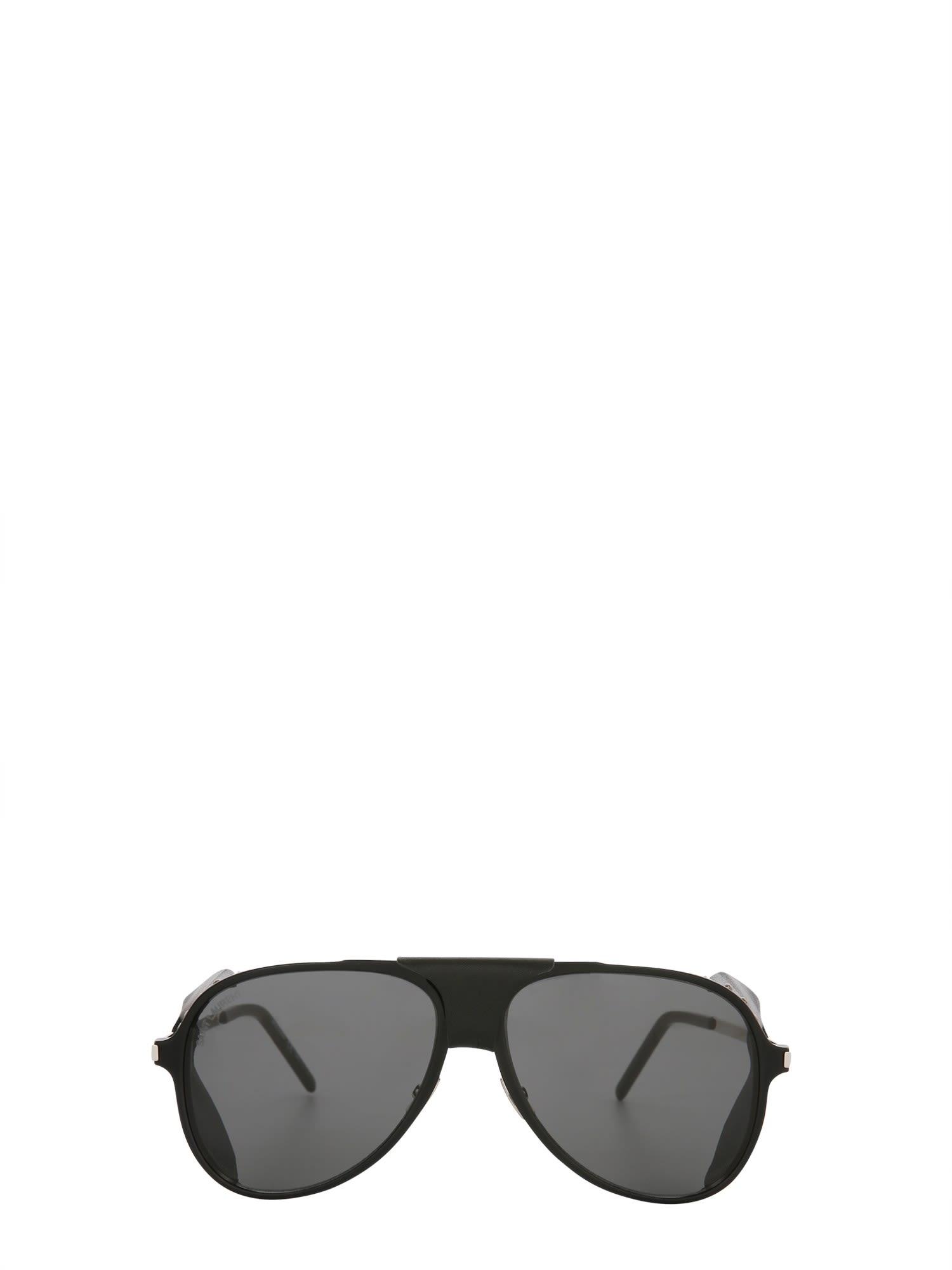 Saint Laurent Classic 11 Blind Aviator Sunglasses