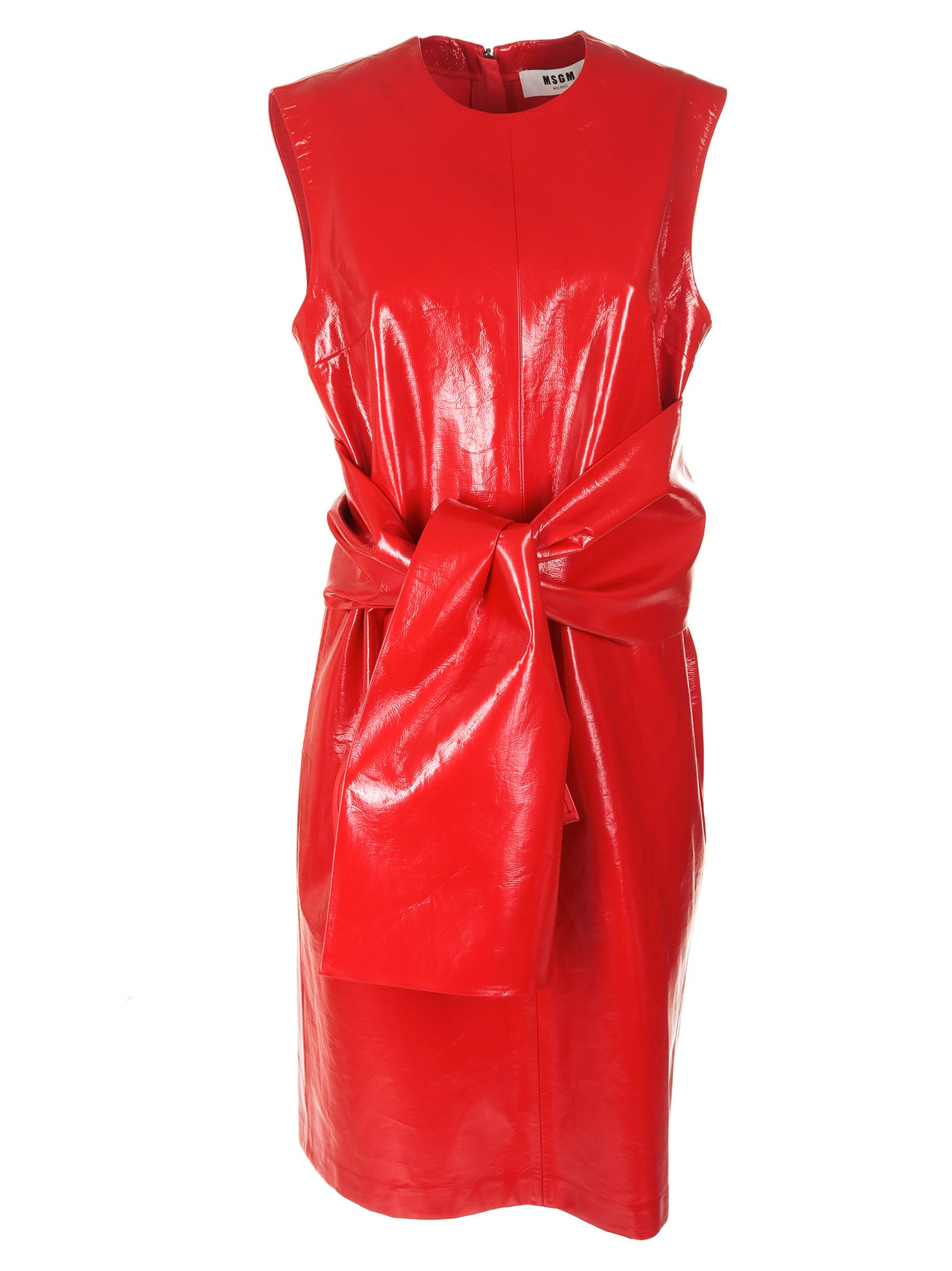 msgm -  Belt-tie Waist Dress