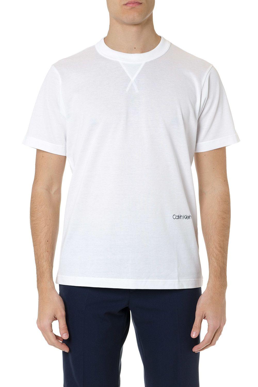 Calvin Klein White Cotton T-shirt