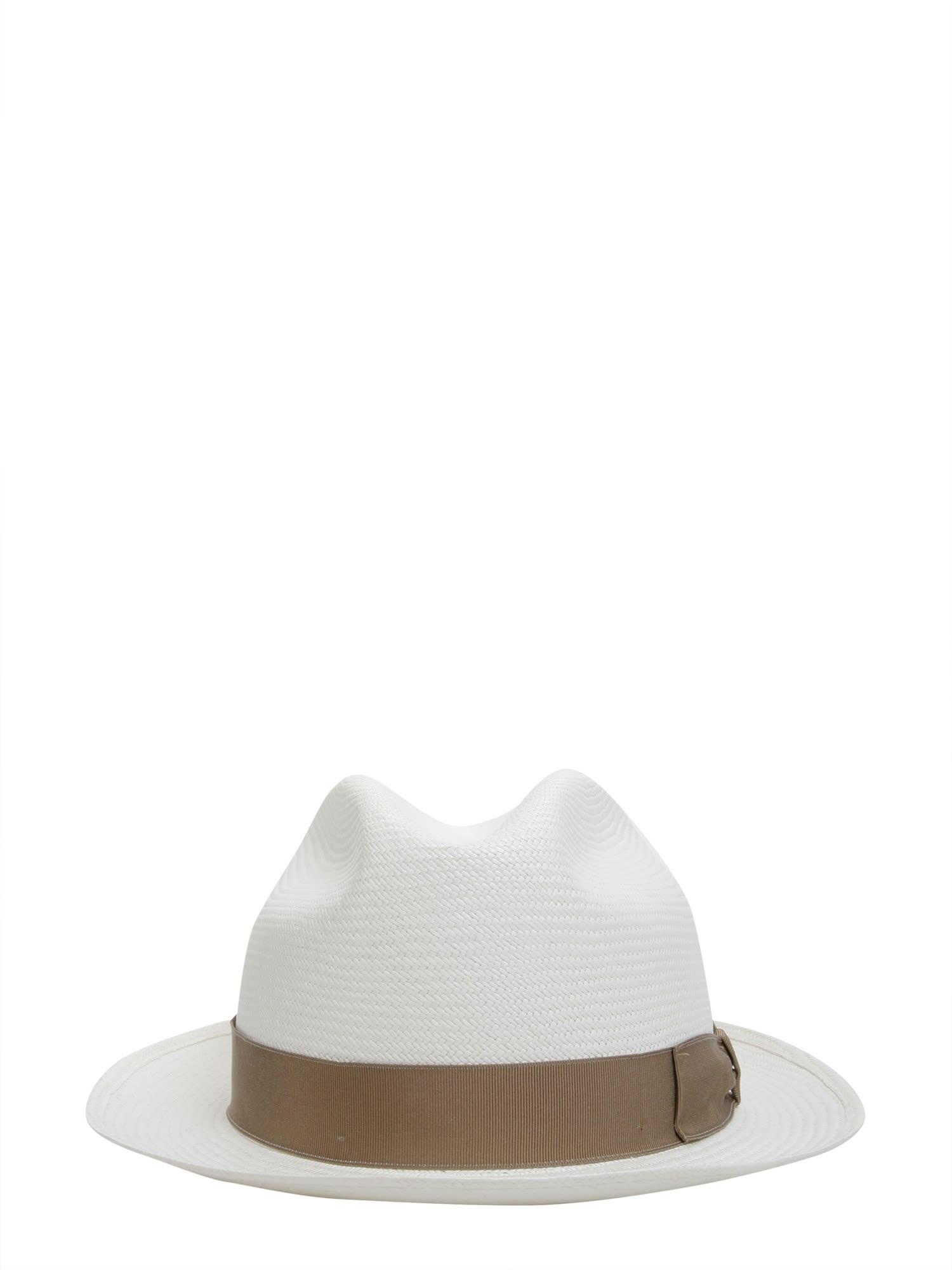 Borsalino Short Brim Panama Hat