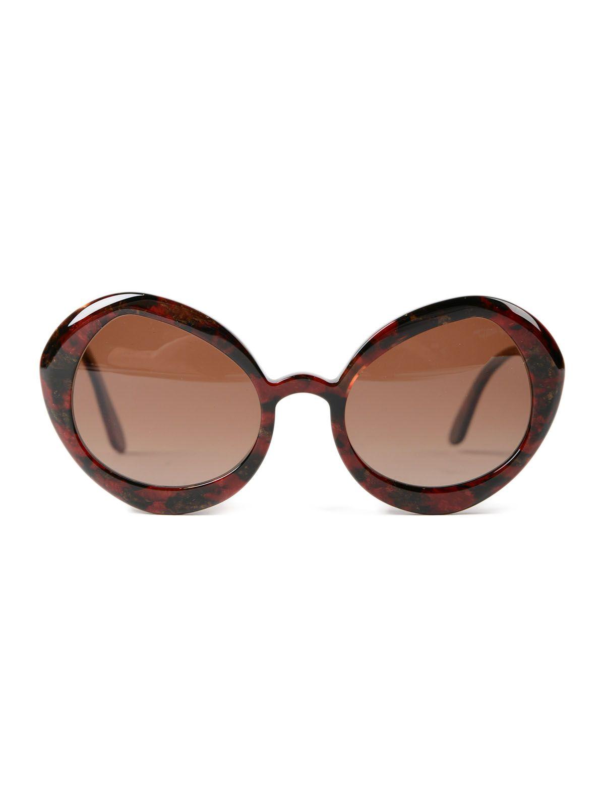 Delirious Round Frame Sunglasses