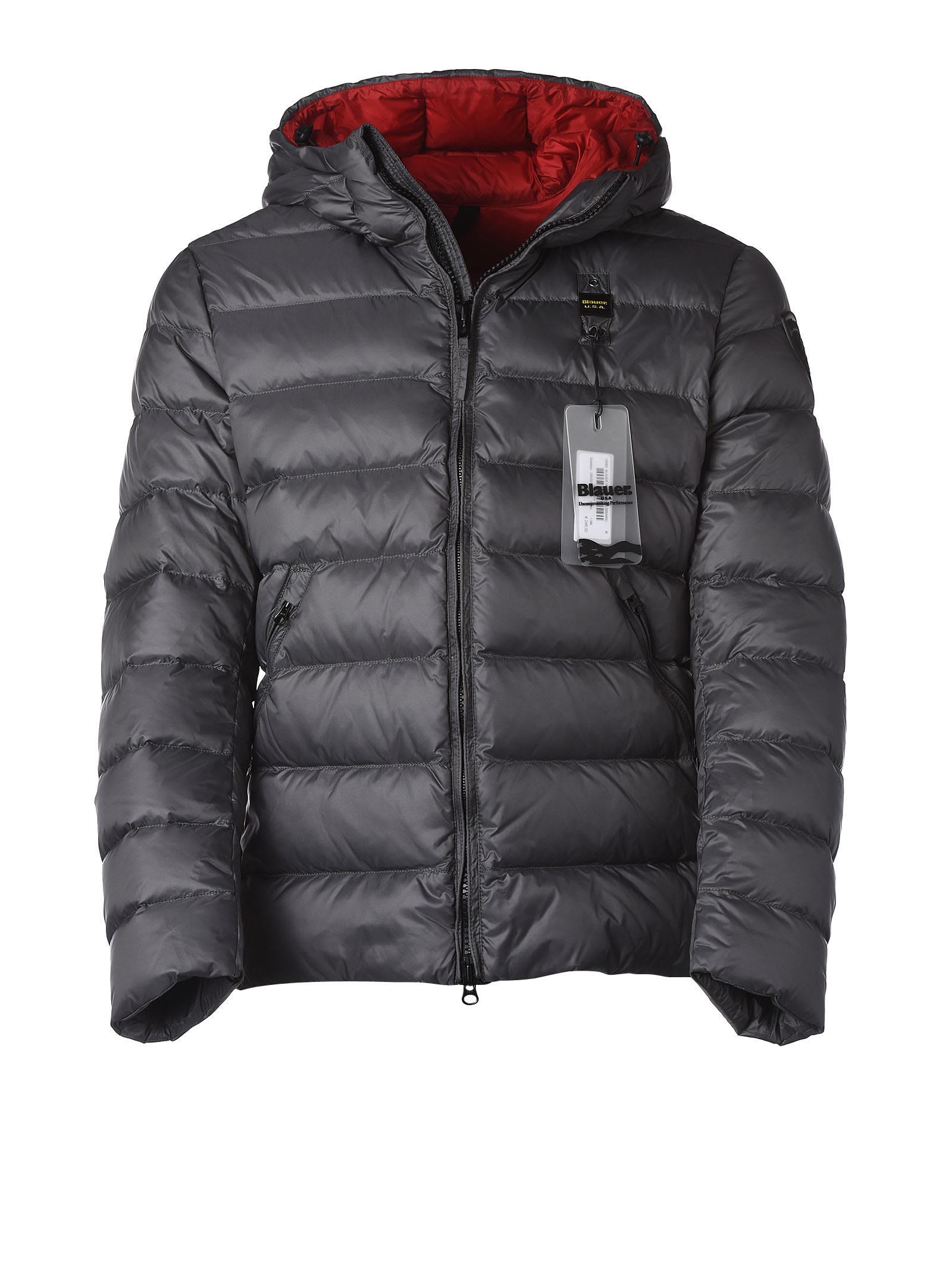 Blauer Grey Ultra Light Down Jacket