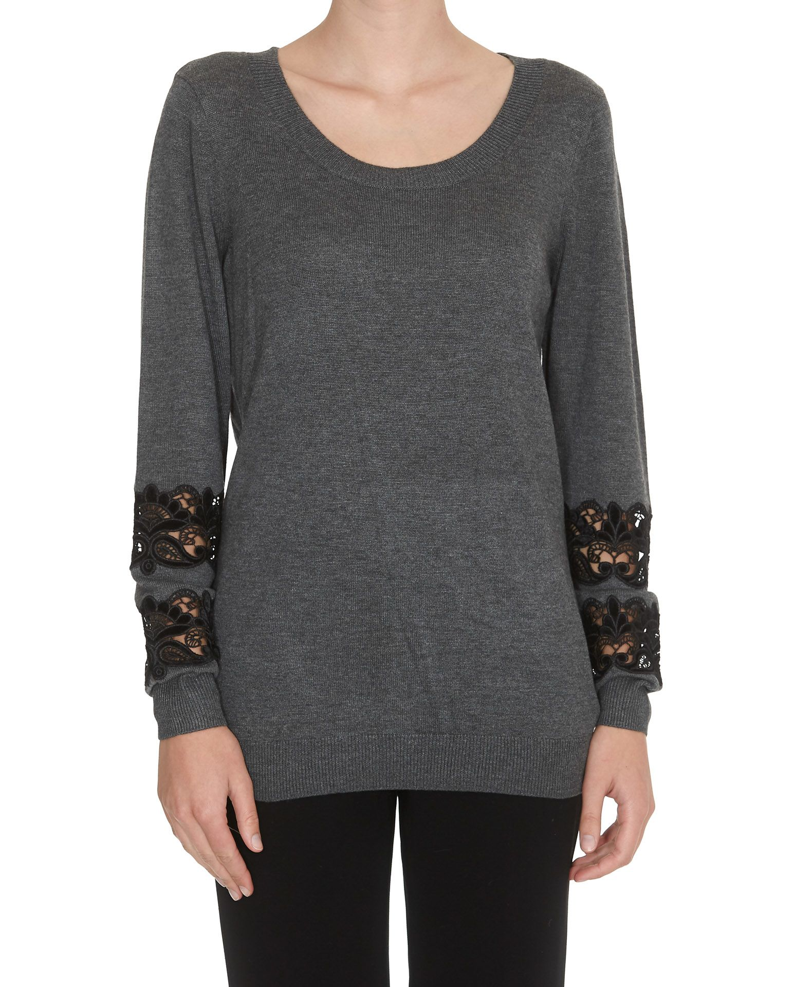 Michael Kors Lace Detail Sweater