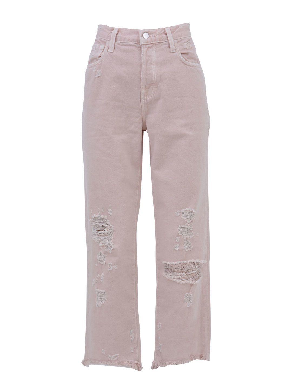 J Brand Ivy Pink Denim Jeans