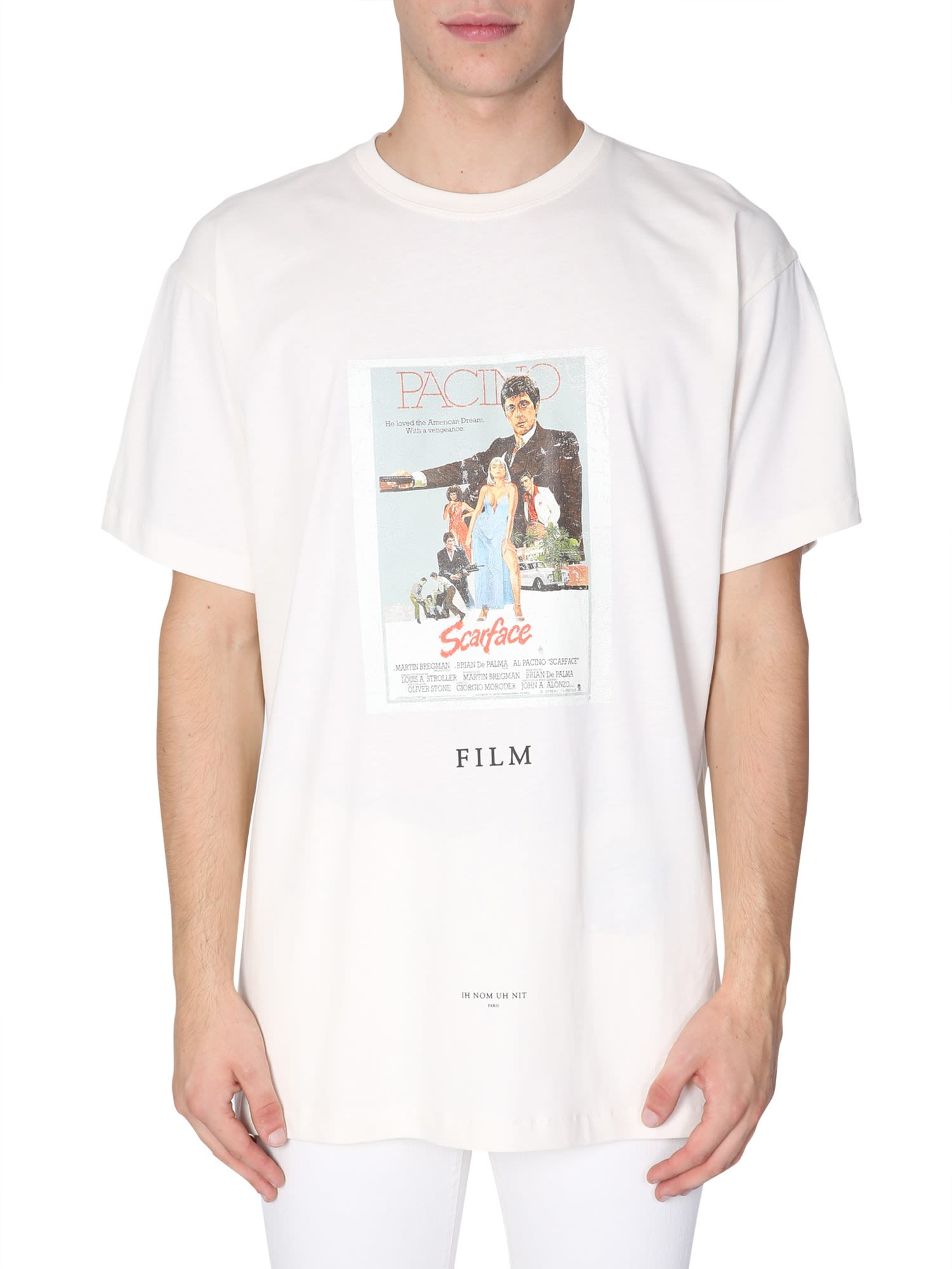 ih nom uh nit Scarface Printed T-shirt