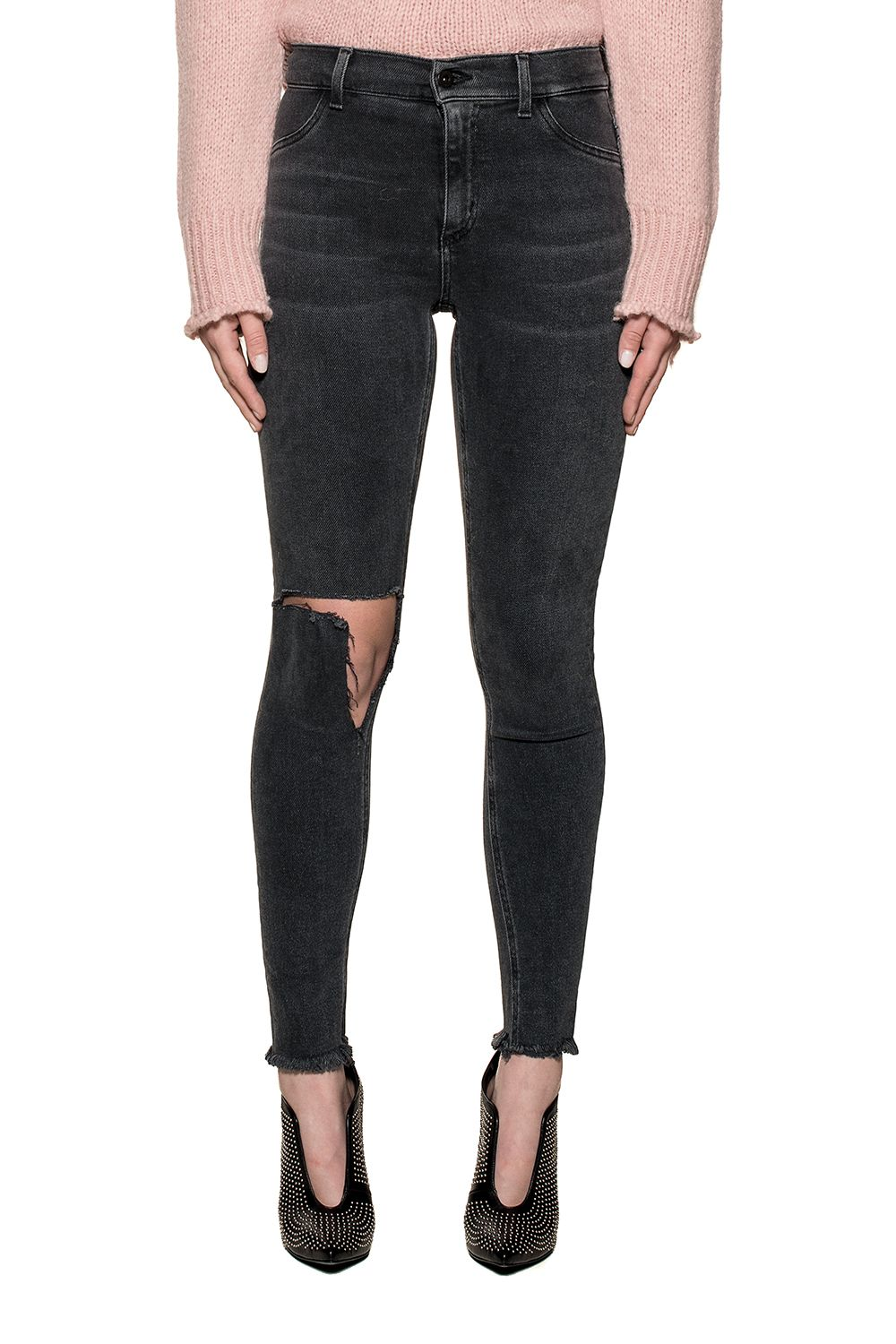 Dondup Black Appetite Denim Jeans
