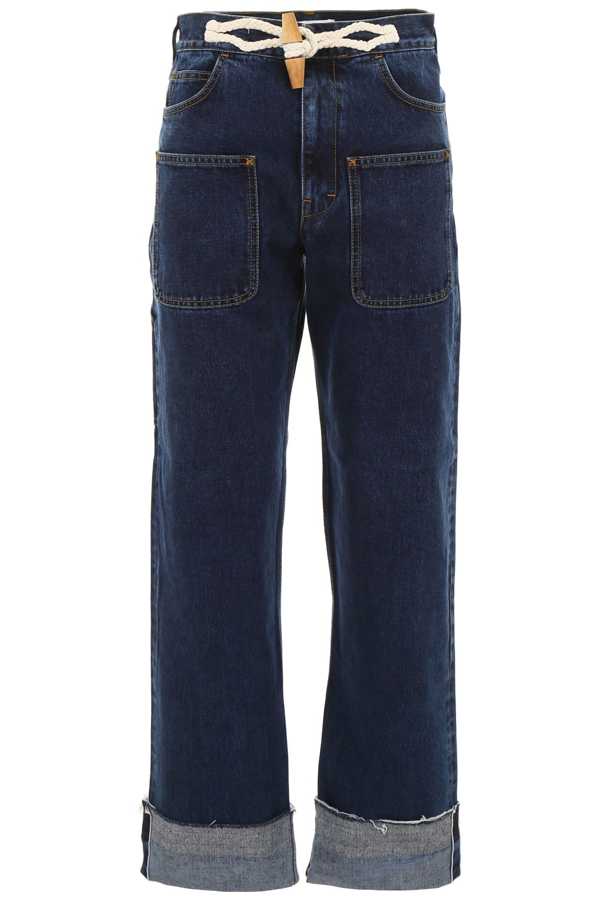 J.W. Anderson Jeans With Toggle