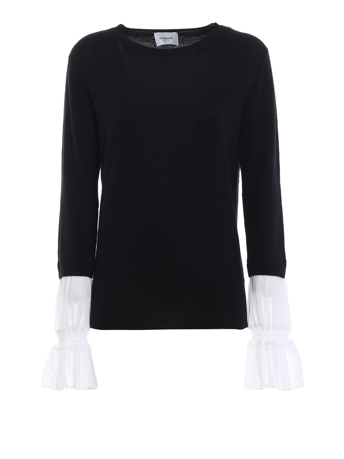 Dondup Georgette Cuff Merino And Cashmere Sweater