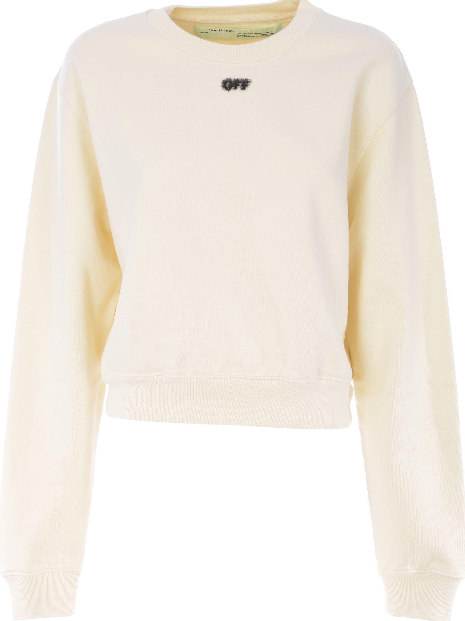 Off-white Eyelash Logo Sweatshirt