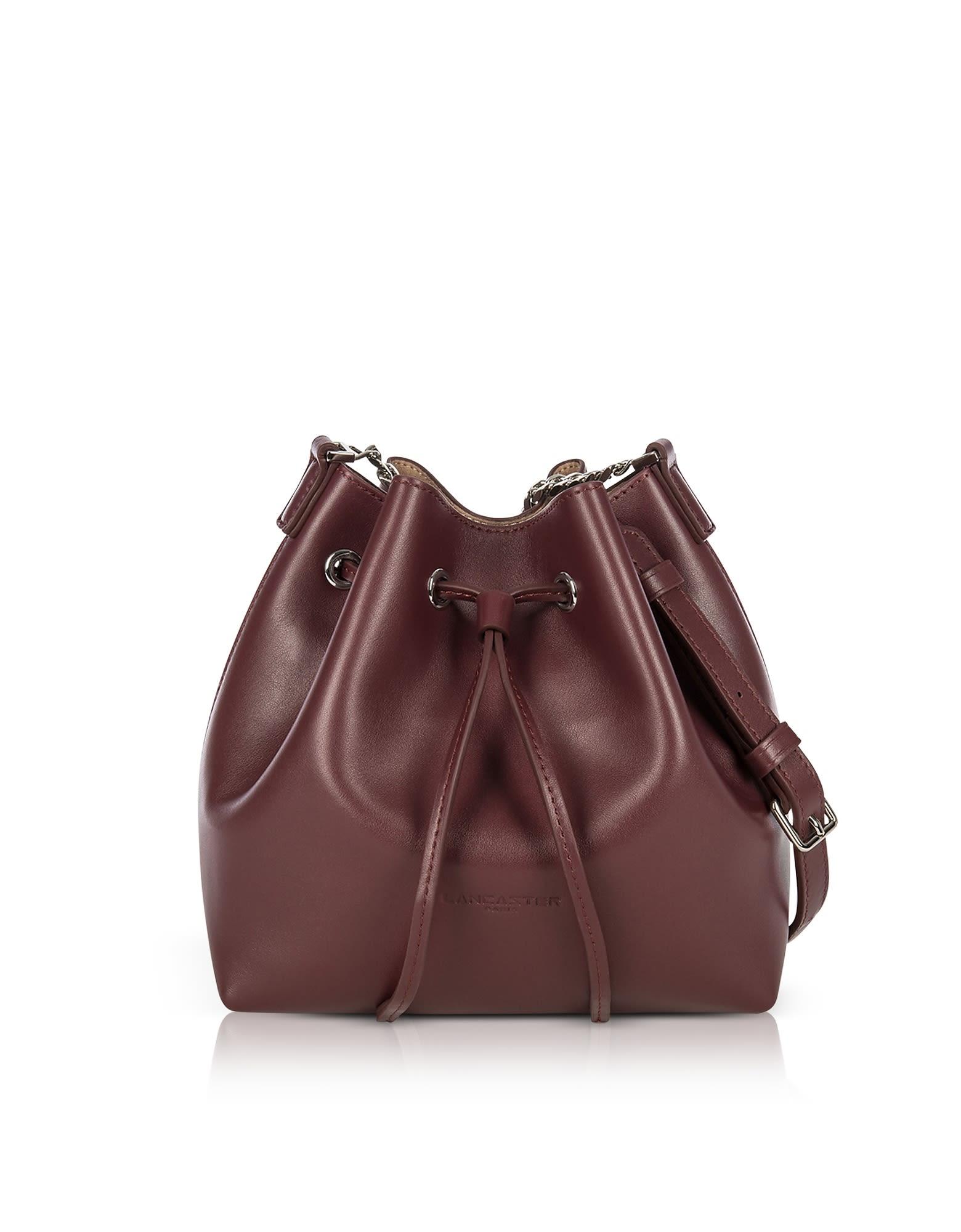 Lancaster Paris Pur Treasure Small Bucket Bag