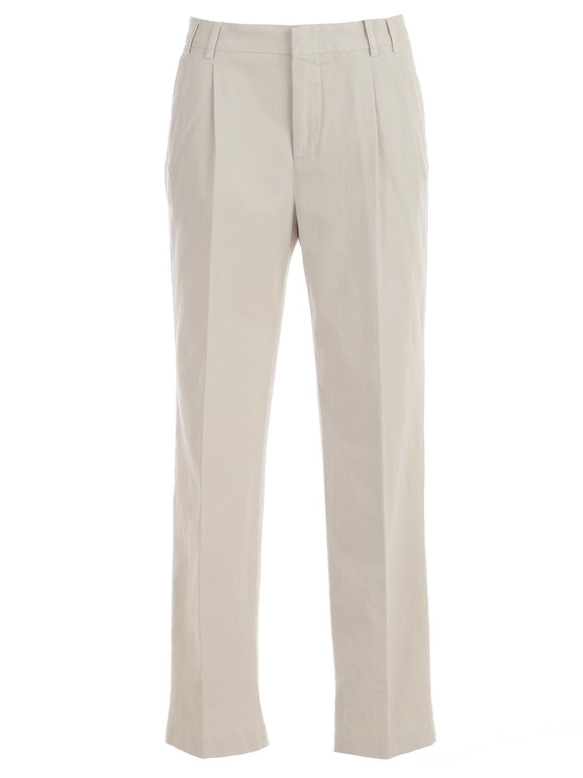 Aspesi High-waisted Trousers