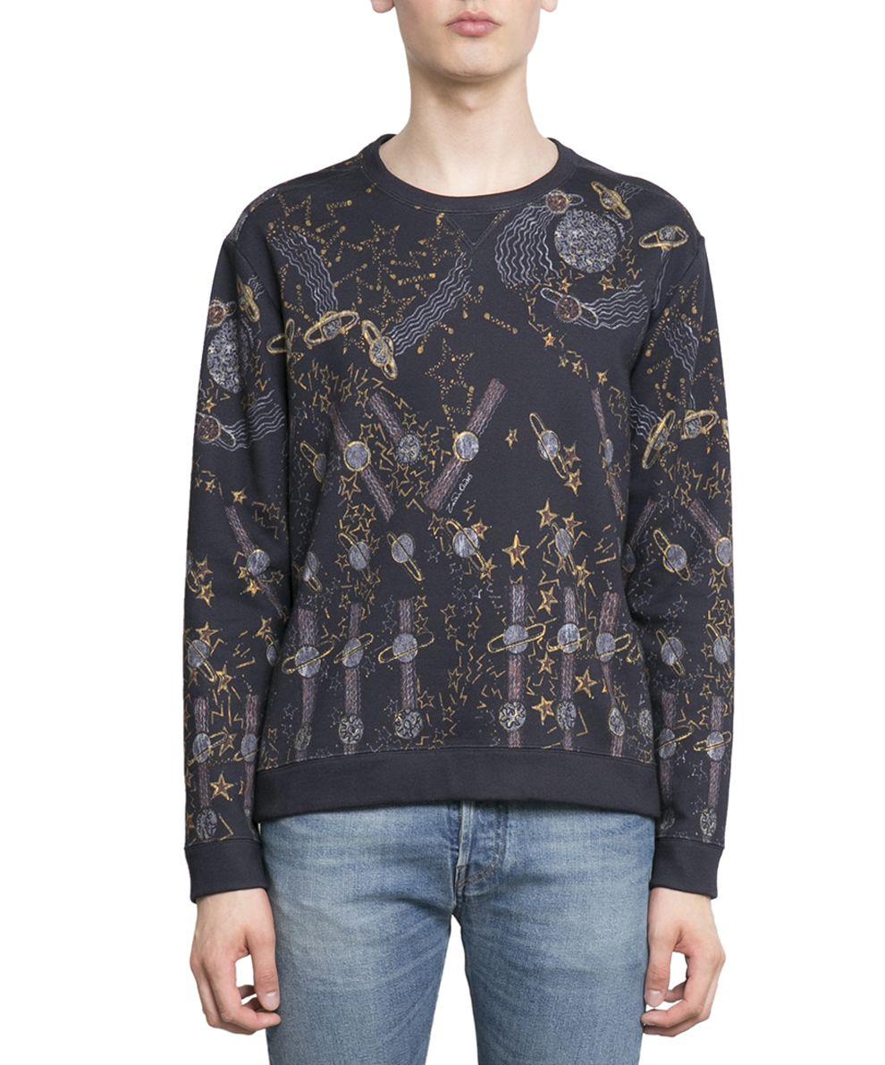 Valentino Lunar Space Zandra Rhodes Cotton Sweatshirt