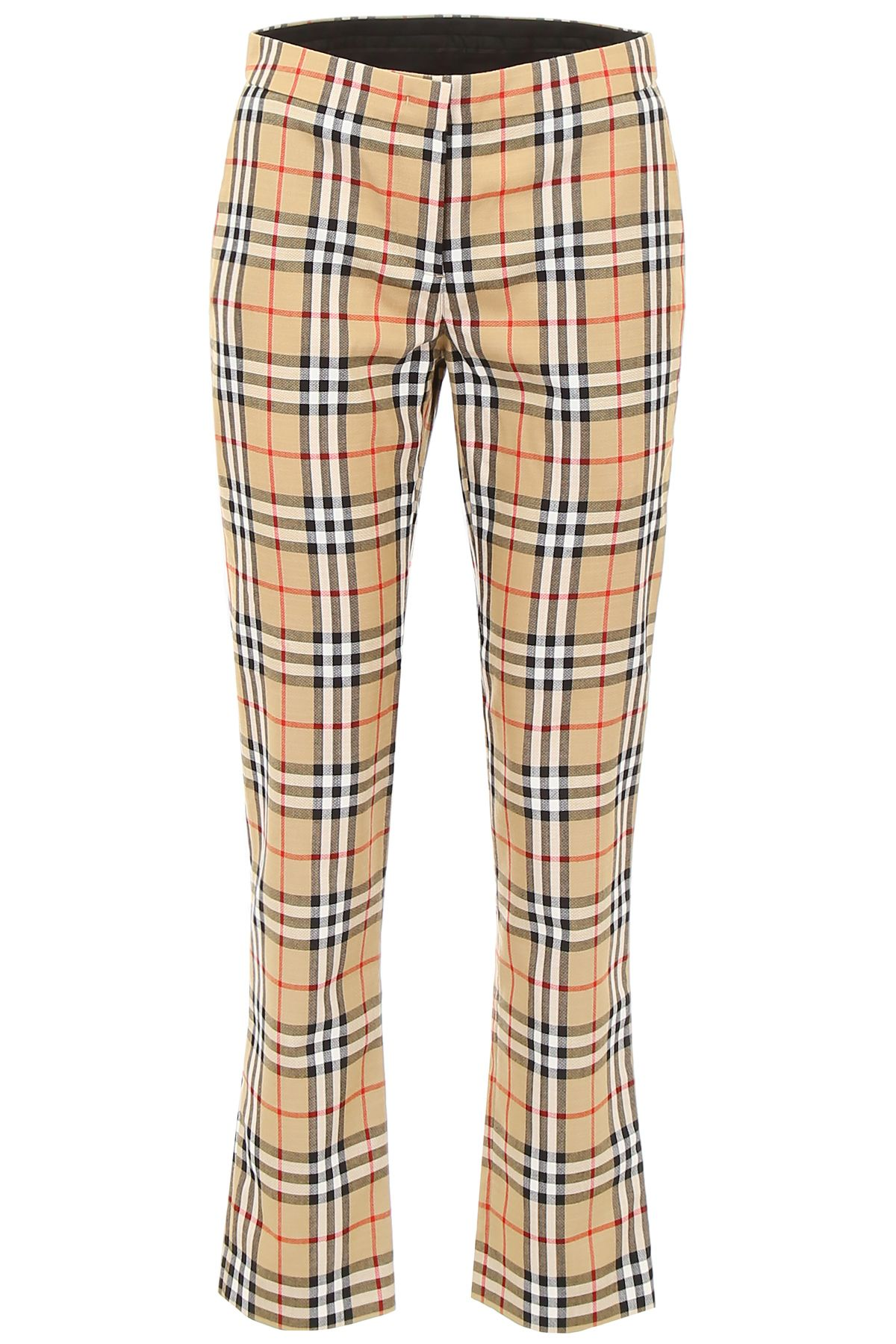 Check Hanover Trousers in Antique Yellow Chk