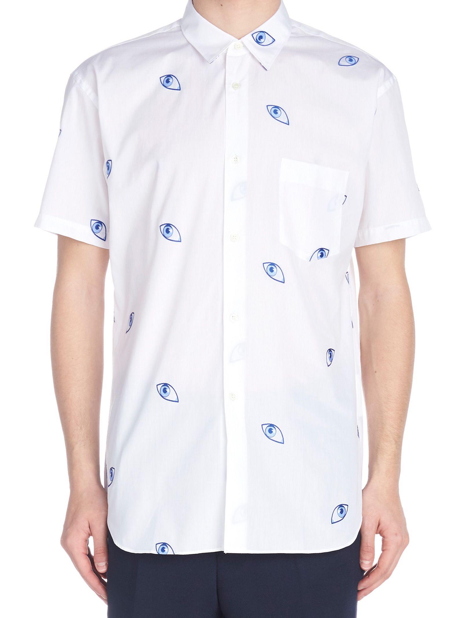 Comme Des Garçons Shirt 'eyes' Shirt