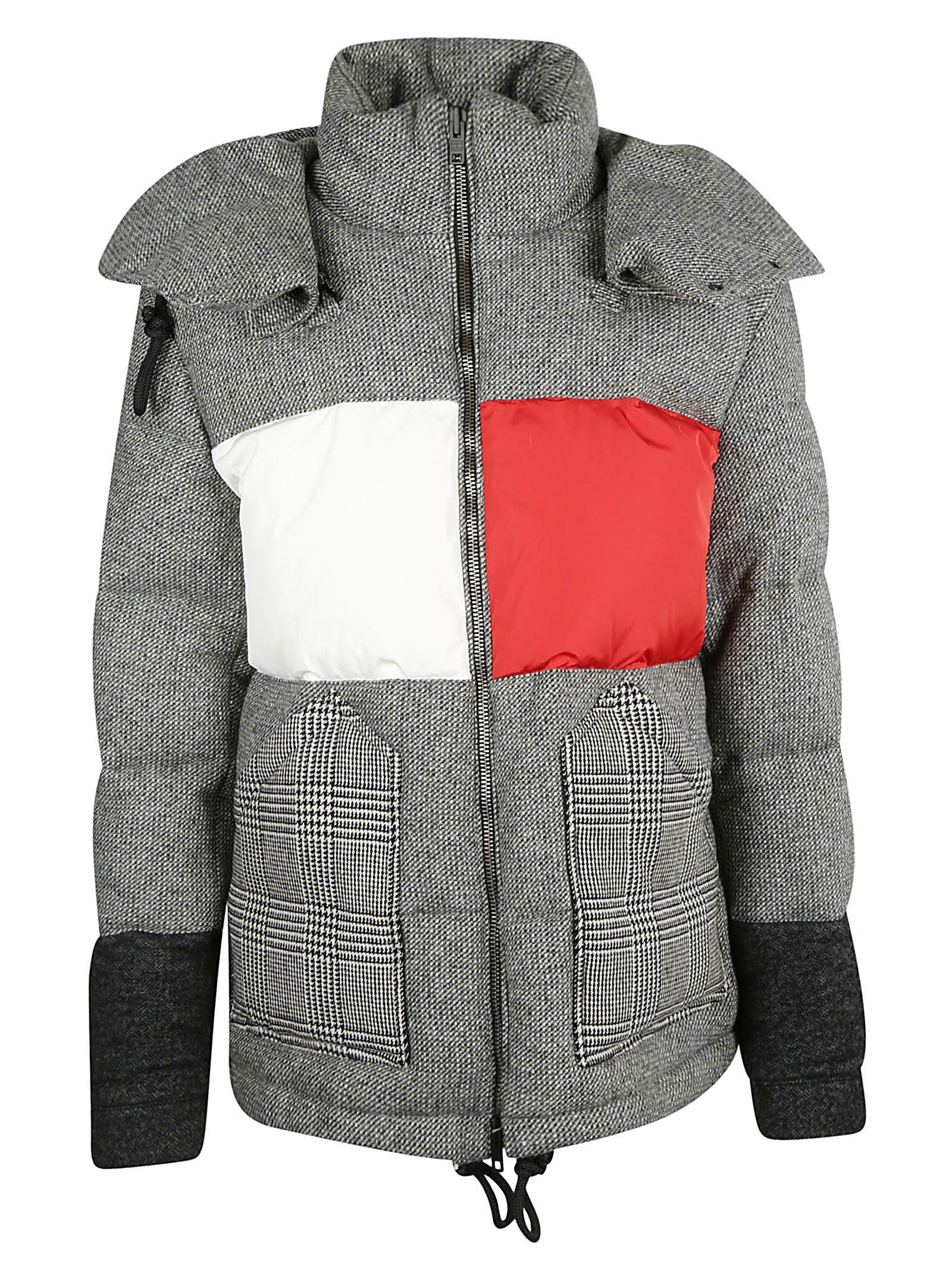 tommy hilfiger -  Paneled Puffer Jacket