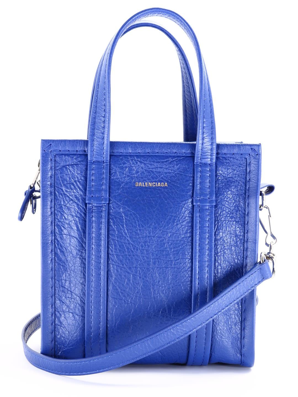 Balenciaga Bazar Bag Xxs Blue