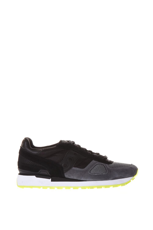 Saucony Black & Grey Original Shadow Sneakers