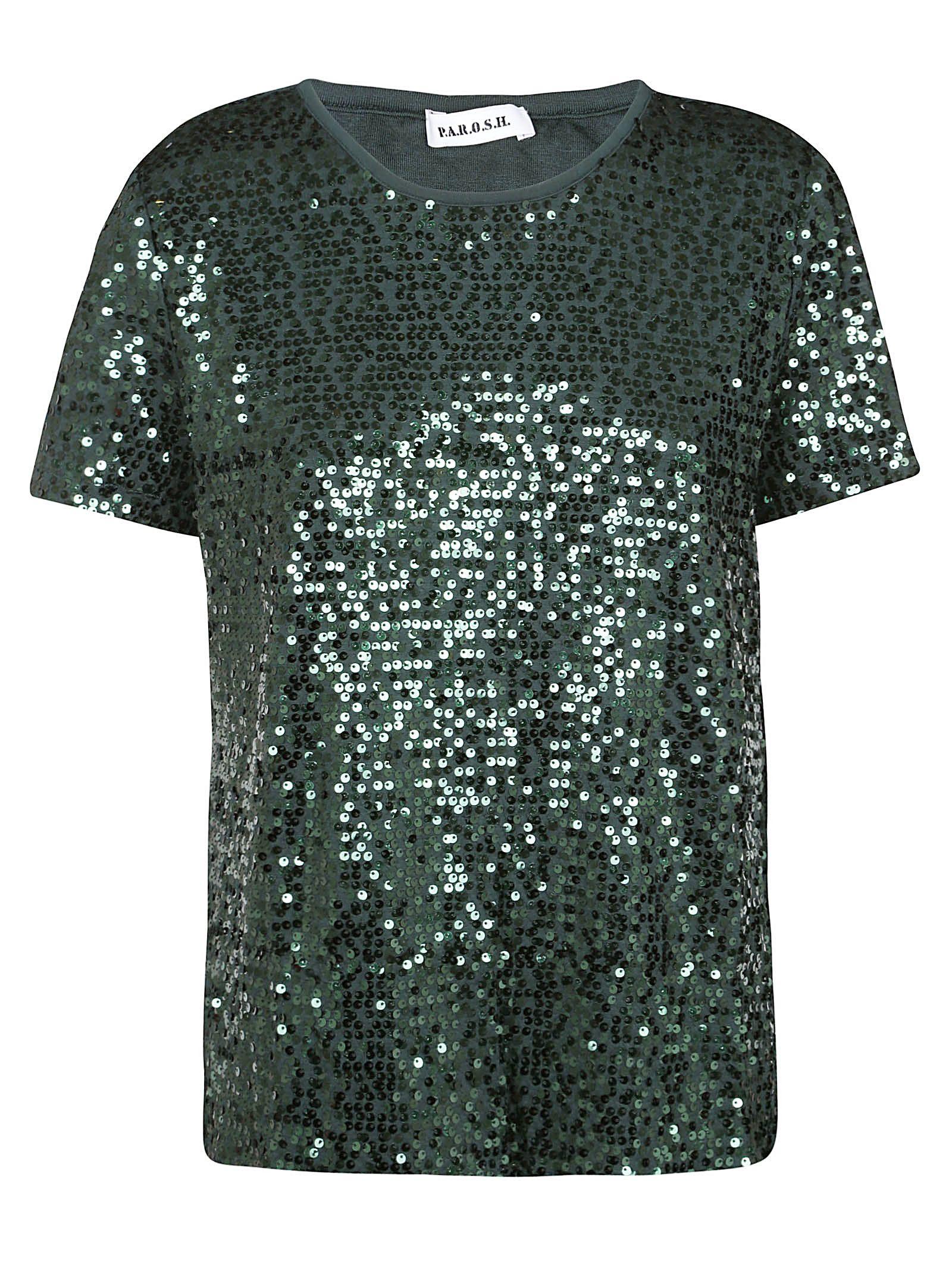 Parosh Embellished T-shirt