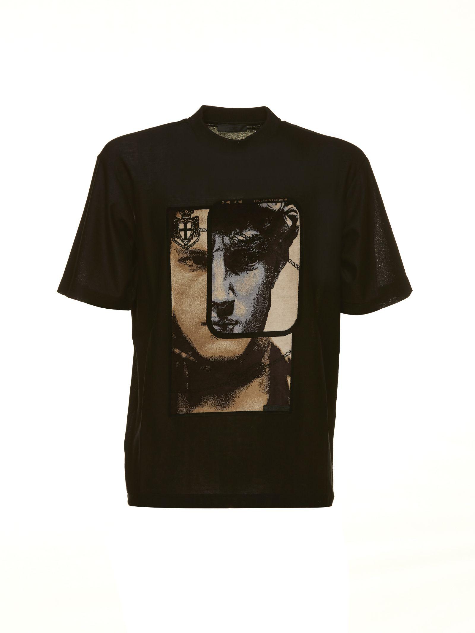 Prada Face Print T-shirt