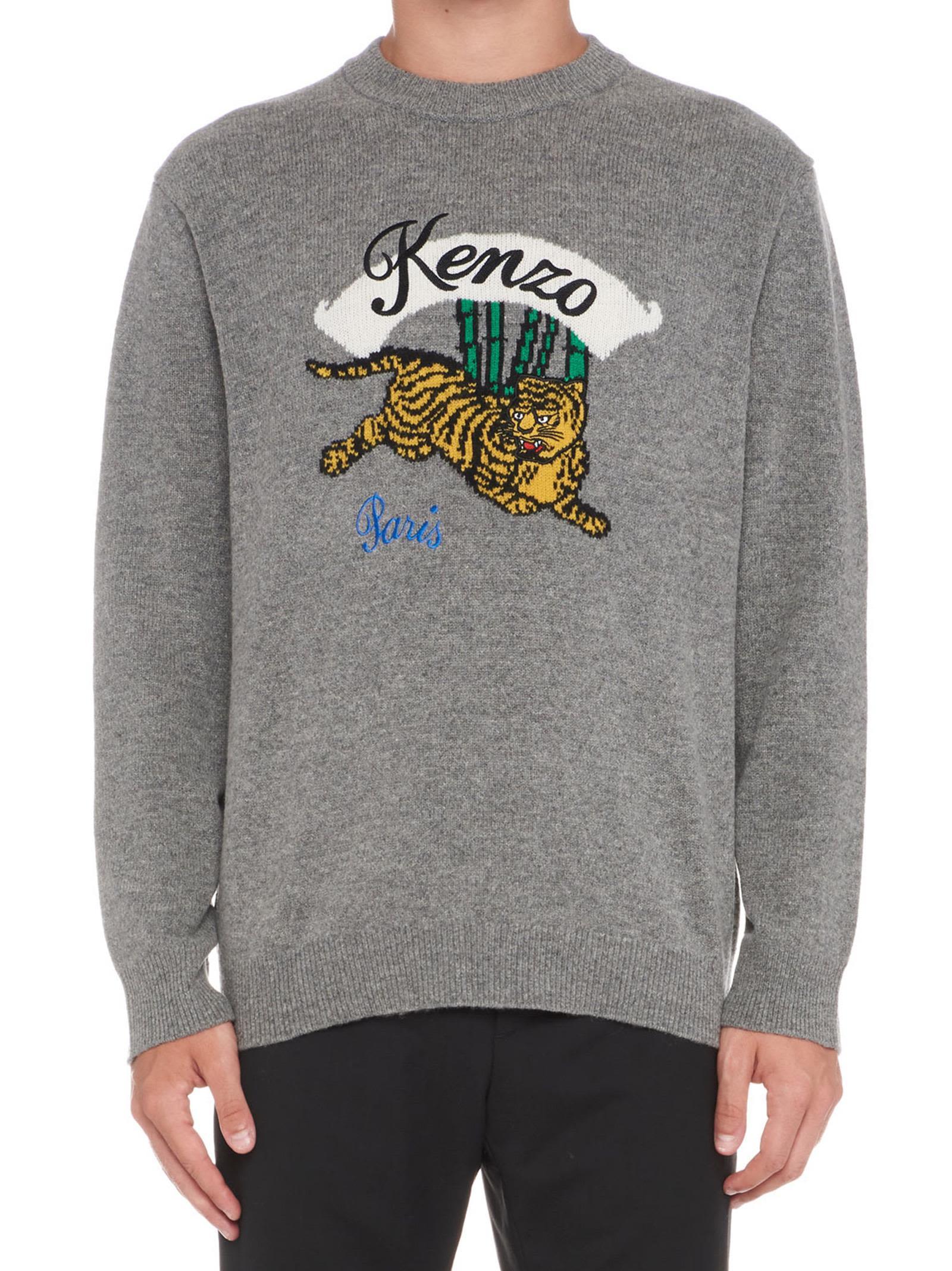 Kenzo 'jumping Tiger' Sweater