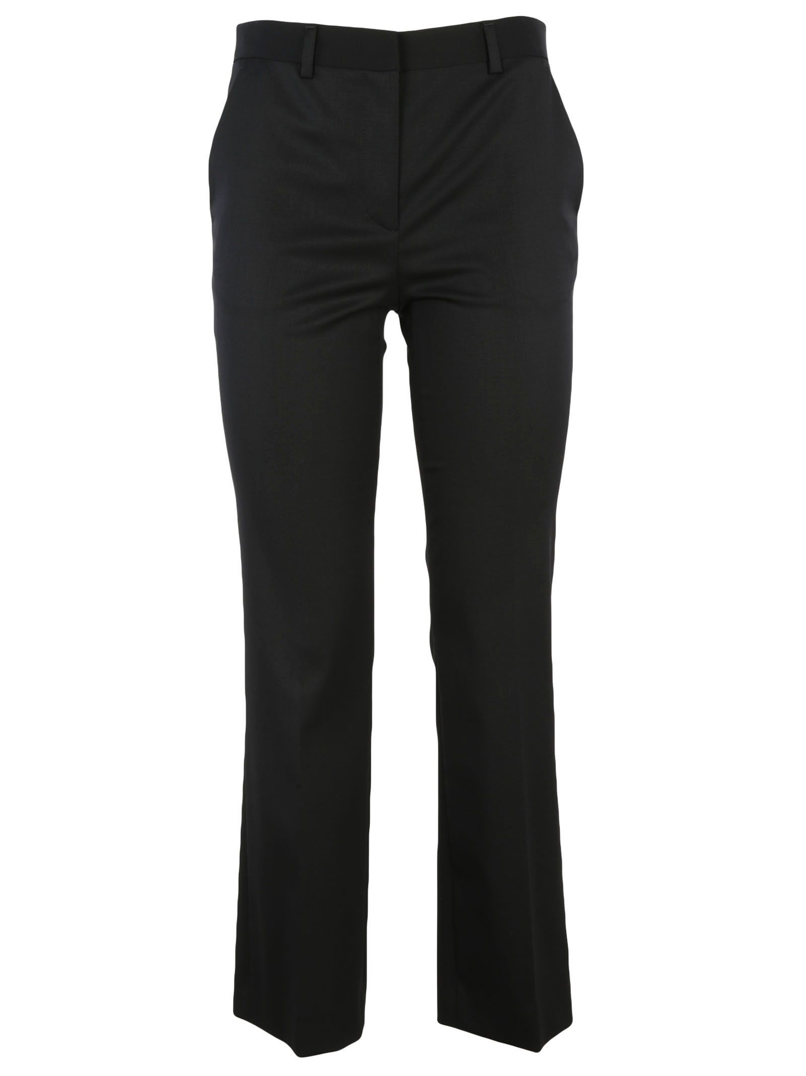 Red Valentino Cropped Flared Trousers