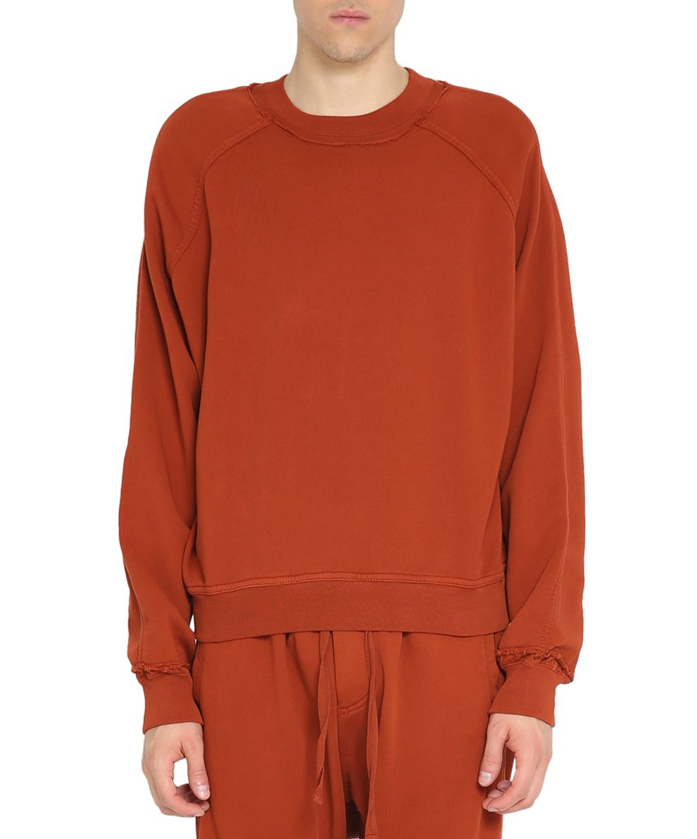 Haider Ackermann Rust Perth Cotton Sweatshirt