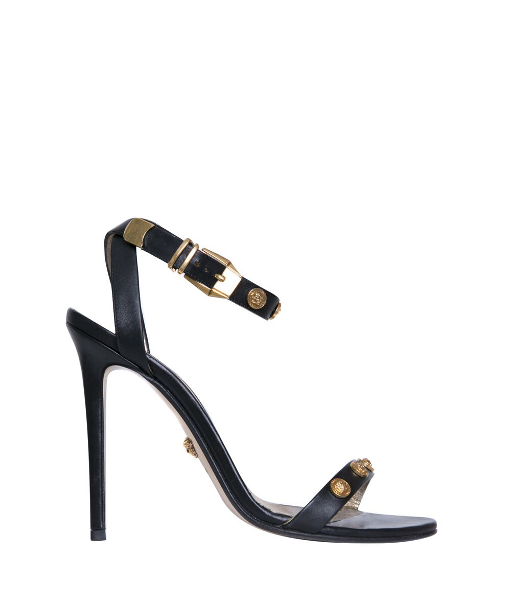 Versace Medusa Leather Sandals