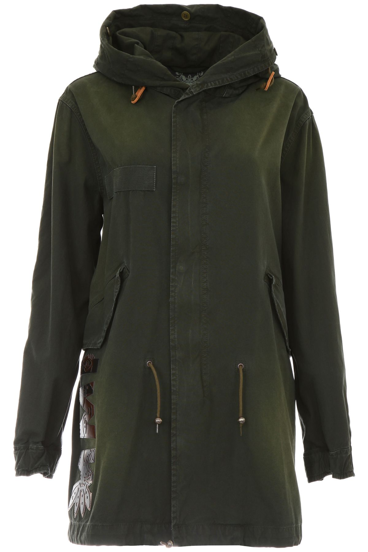 Mr & Mrs Italy Parka With Logo Patches