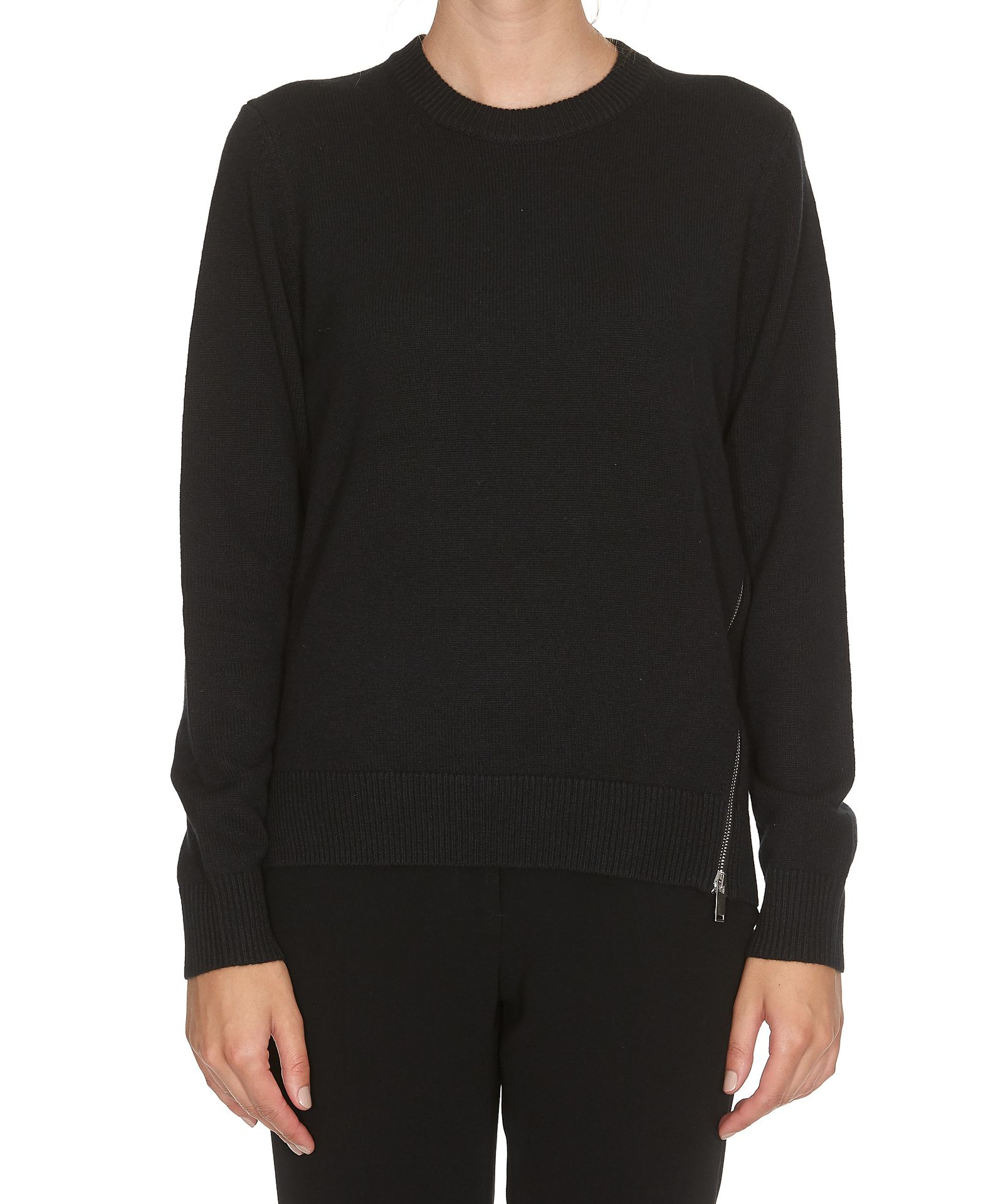 Proenza Schouler Asymmetrical Crew Neck Sweater