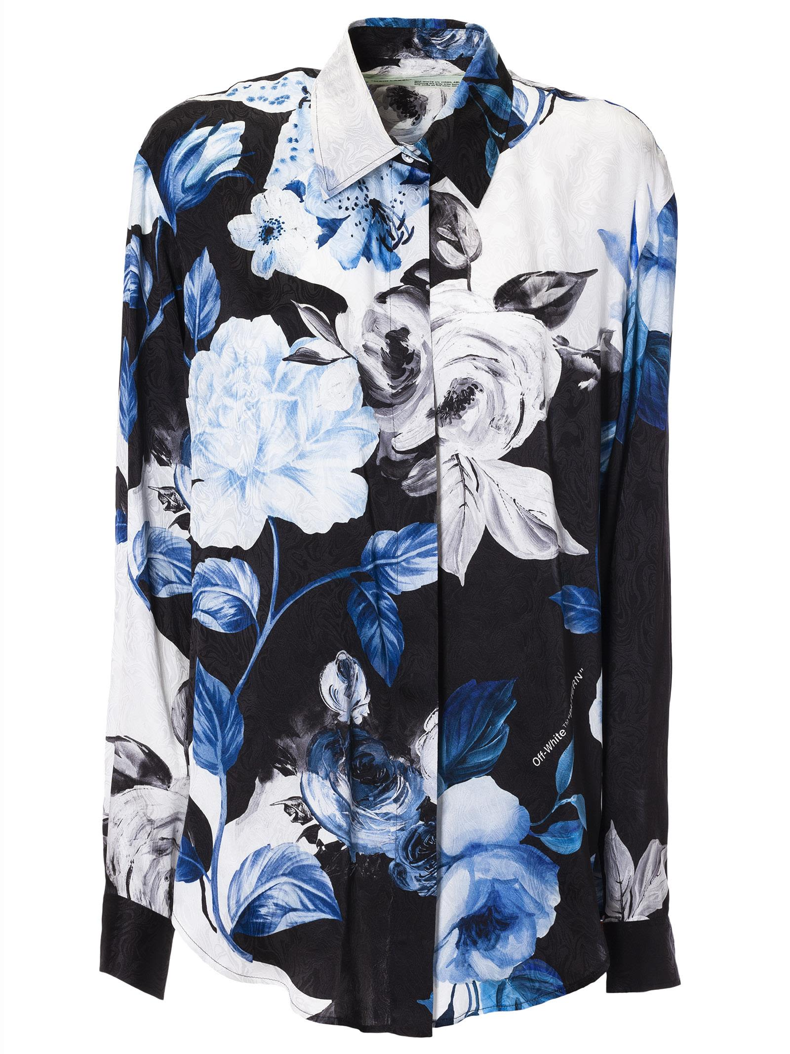 Off-white Floral Shirt
