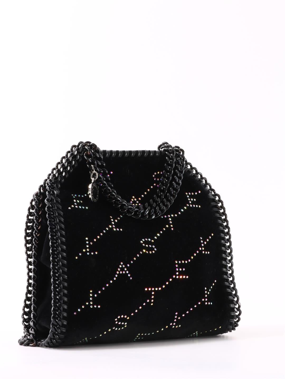Stella McCartney Tiny Falabella Bag With Strass