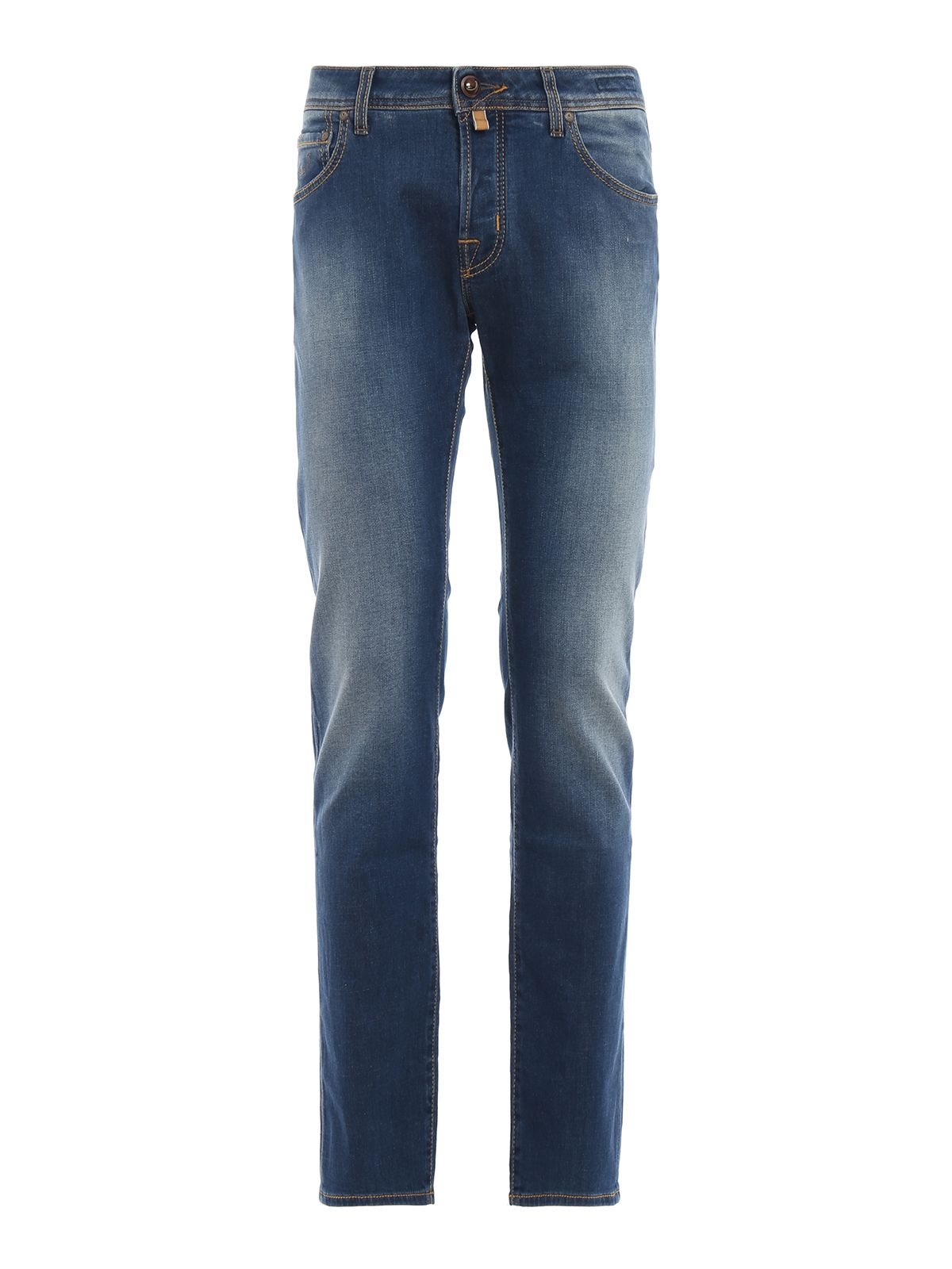 Jacob Cohen J622 Comf Blue Medium Wash Tailored Jeans