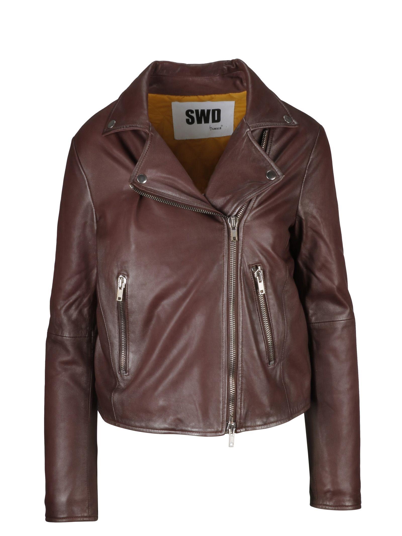 S.w.o.r.d 6.6.4.4. Zipped Biker Jacket