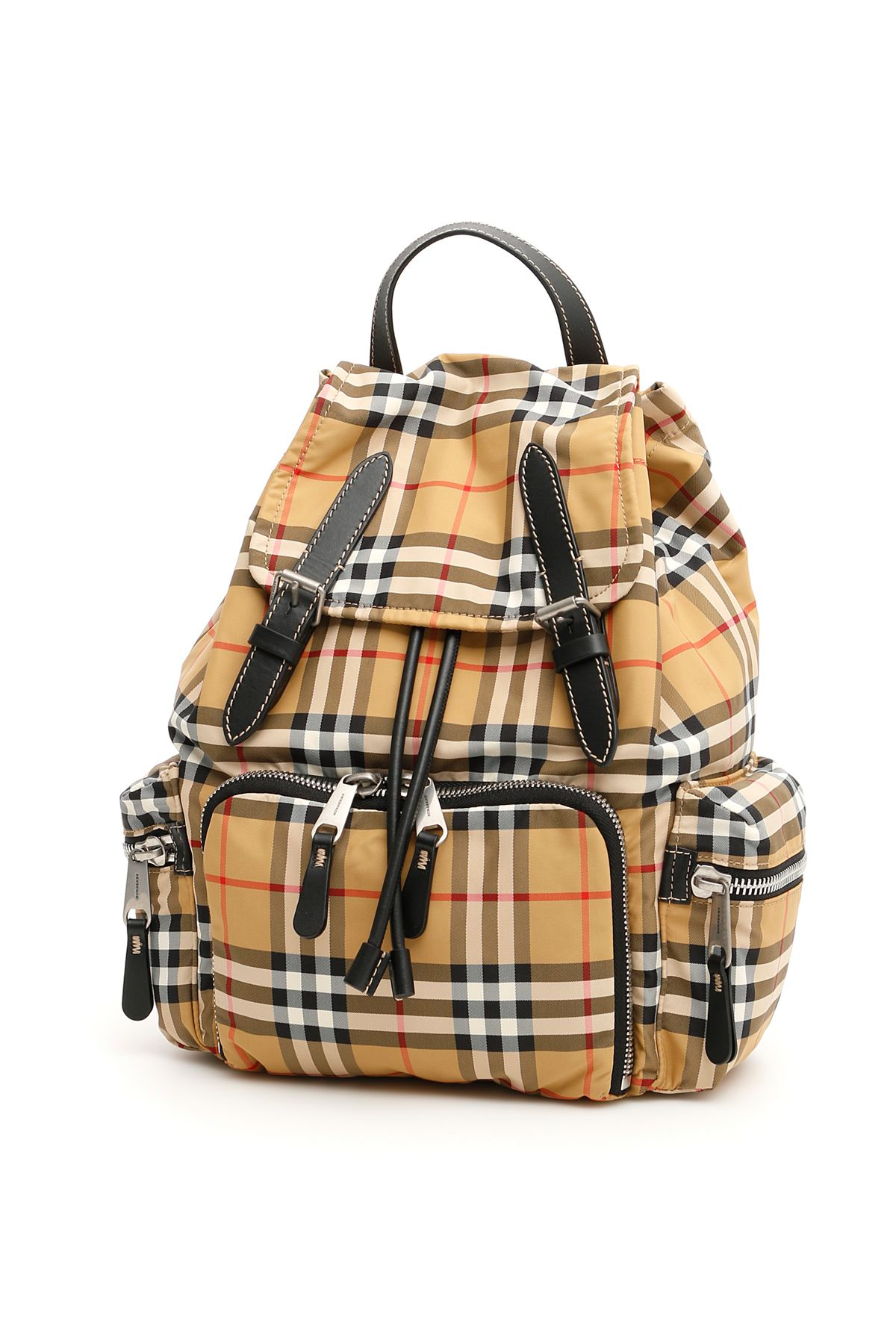 a38a26214 Burberry Medium Rucksack In Vintage Check In Antique Yellow|Beige | ModeSens