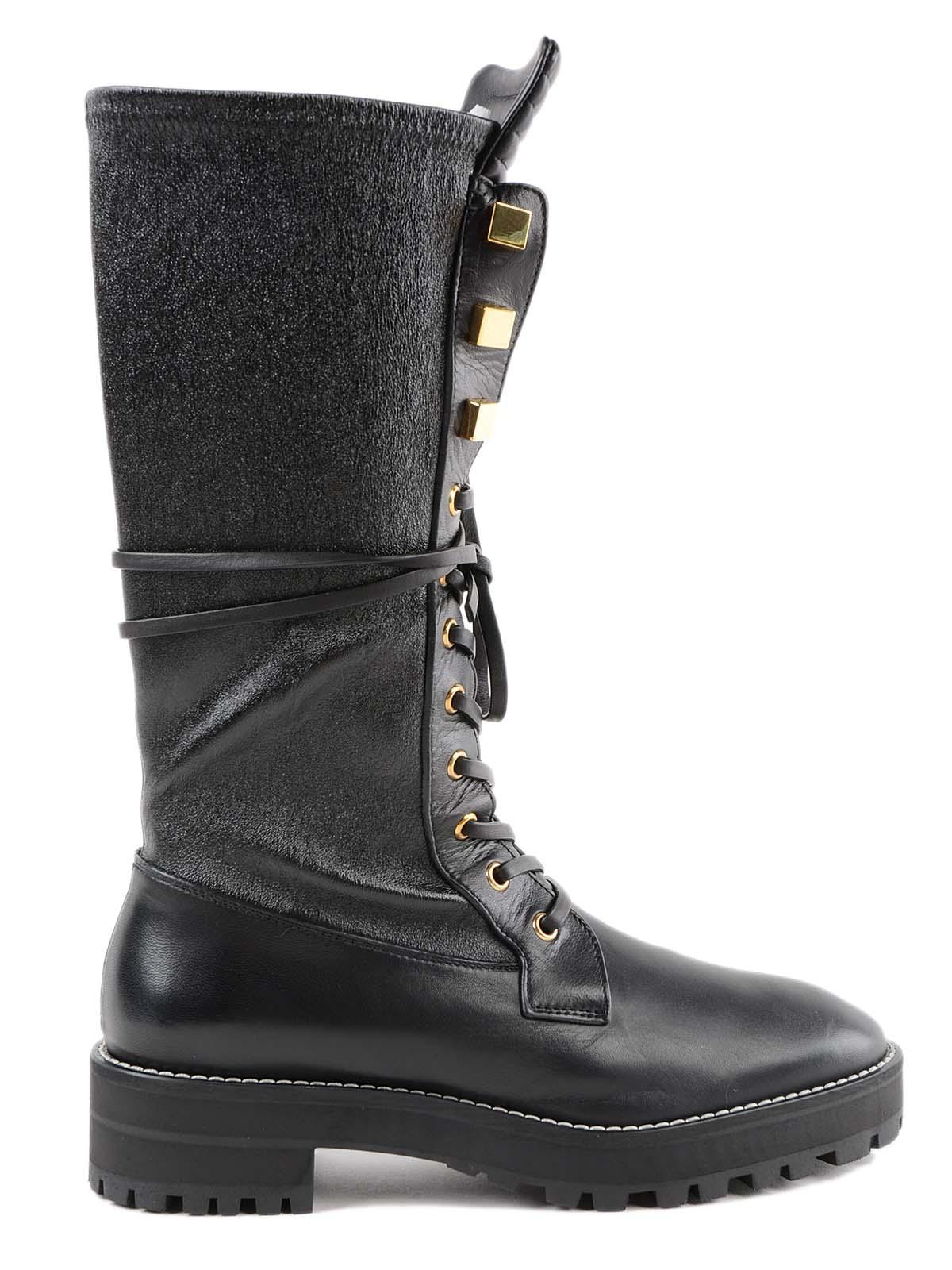 stuart weitzman -  Elspeth Turin Combat Boots