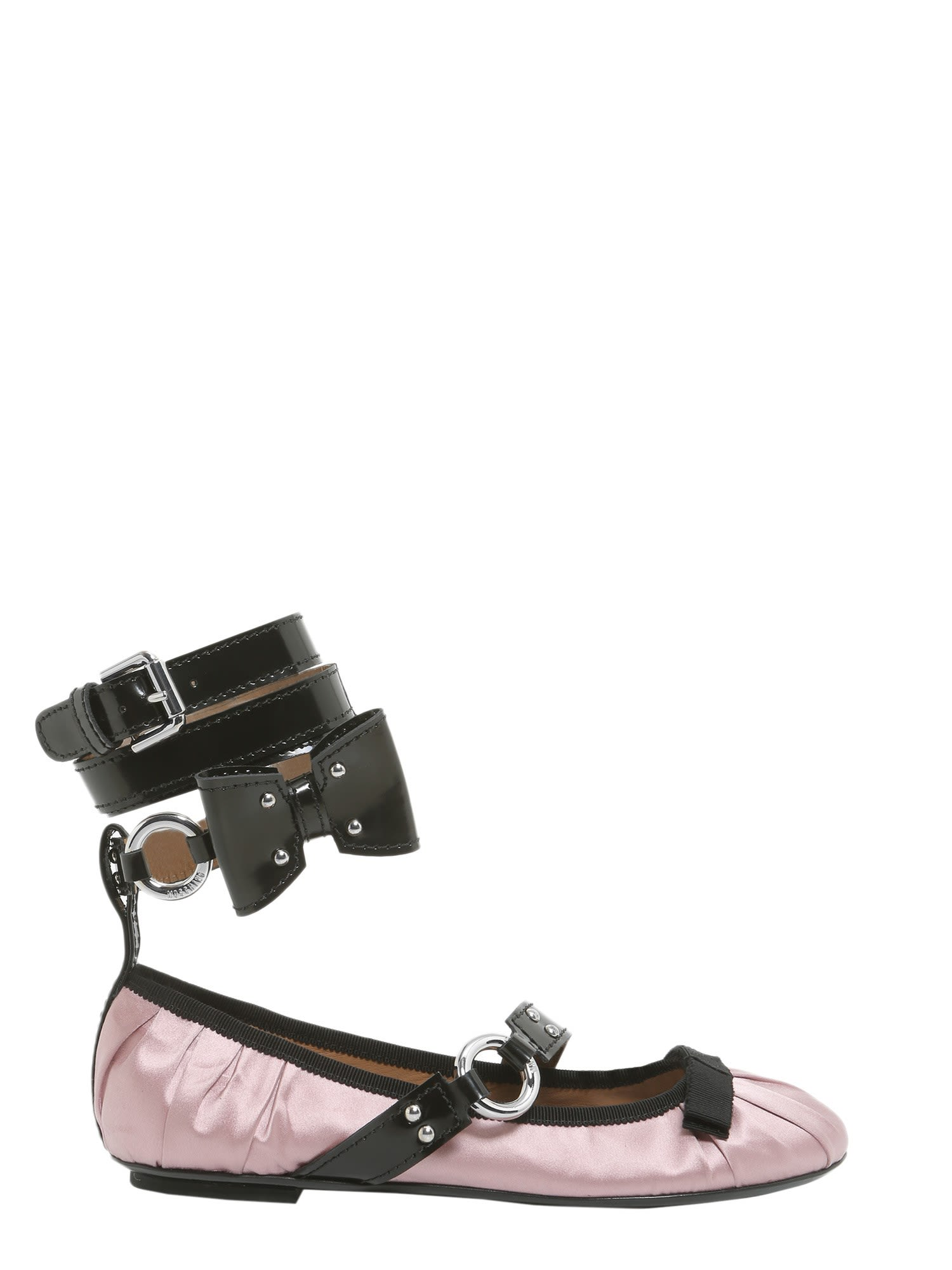 Moschino Ballerina With Painted Lace
