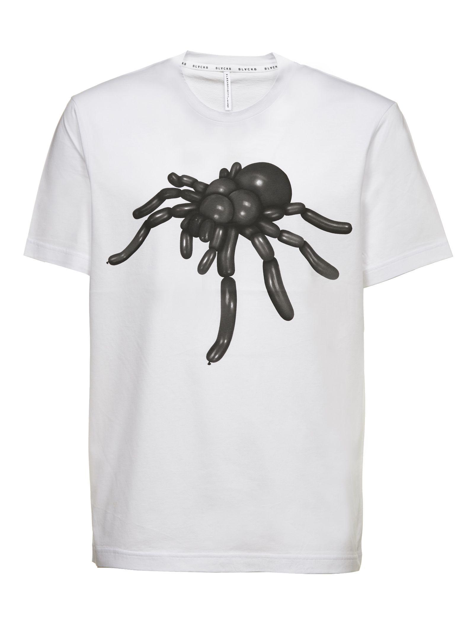 Black Barrett Spider Print T-shirt
