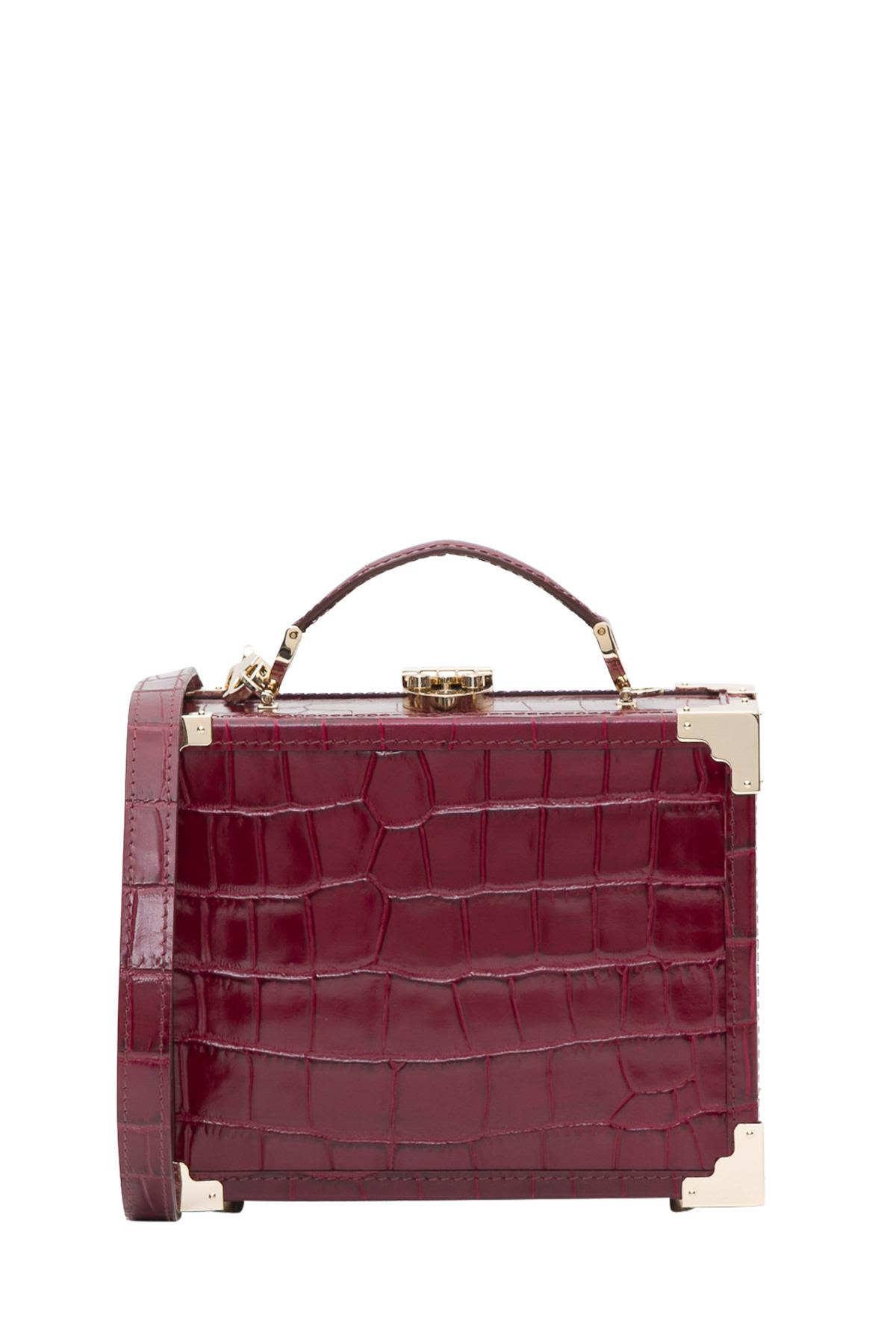 Aspinal of London Mini Trunk Shoulder Bag