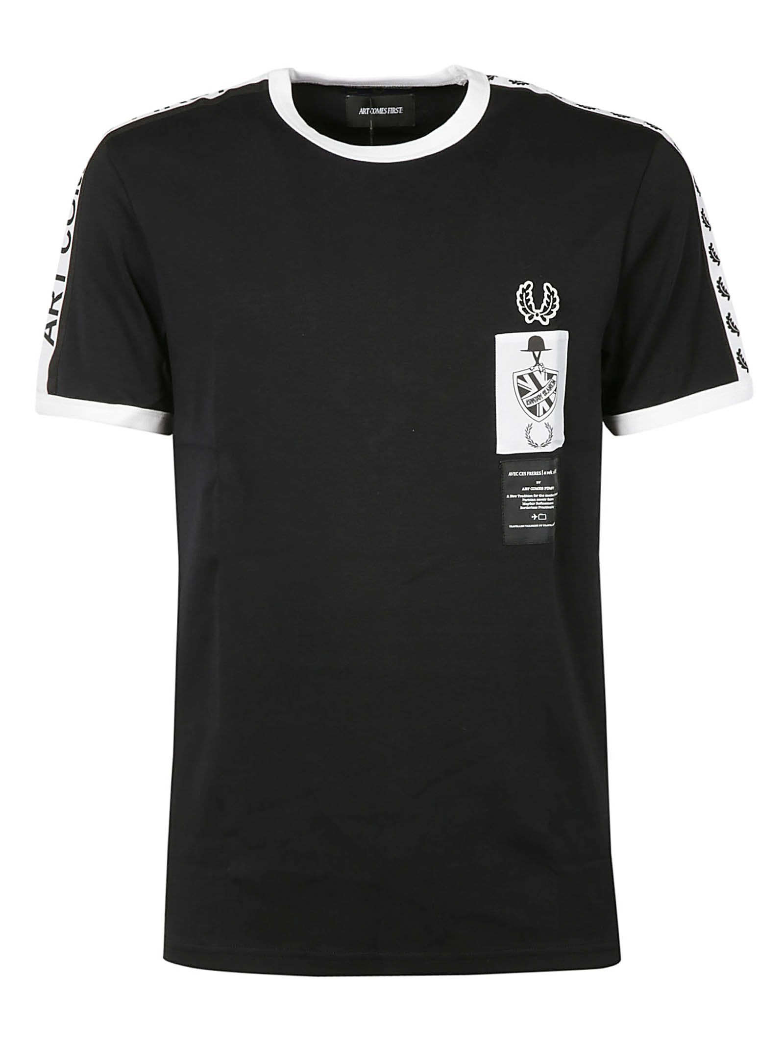 Fred Perry Striped Detail T-shirt