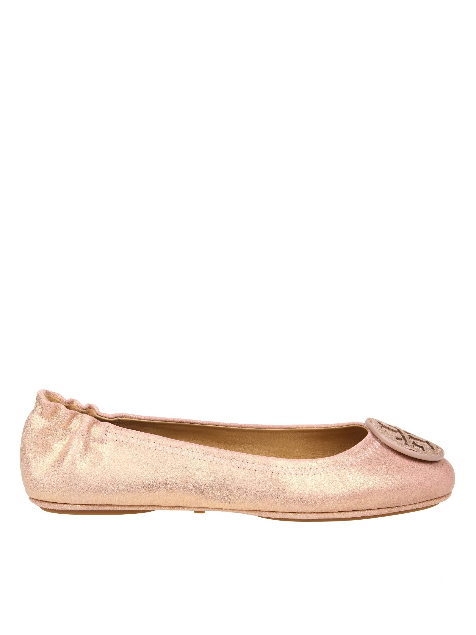 Tory Burch Ballerina Minnie Travel Color Pink